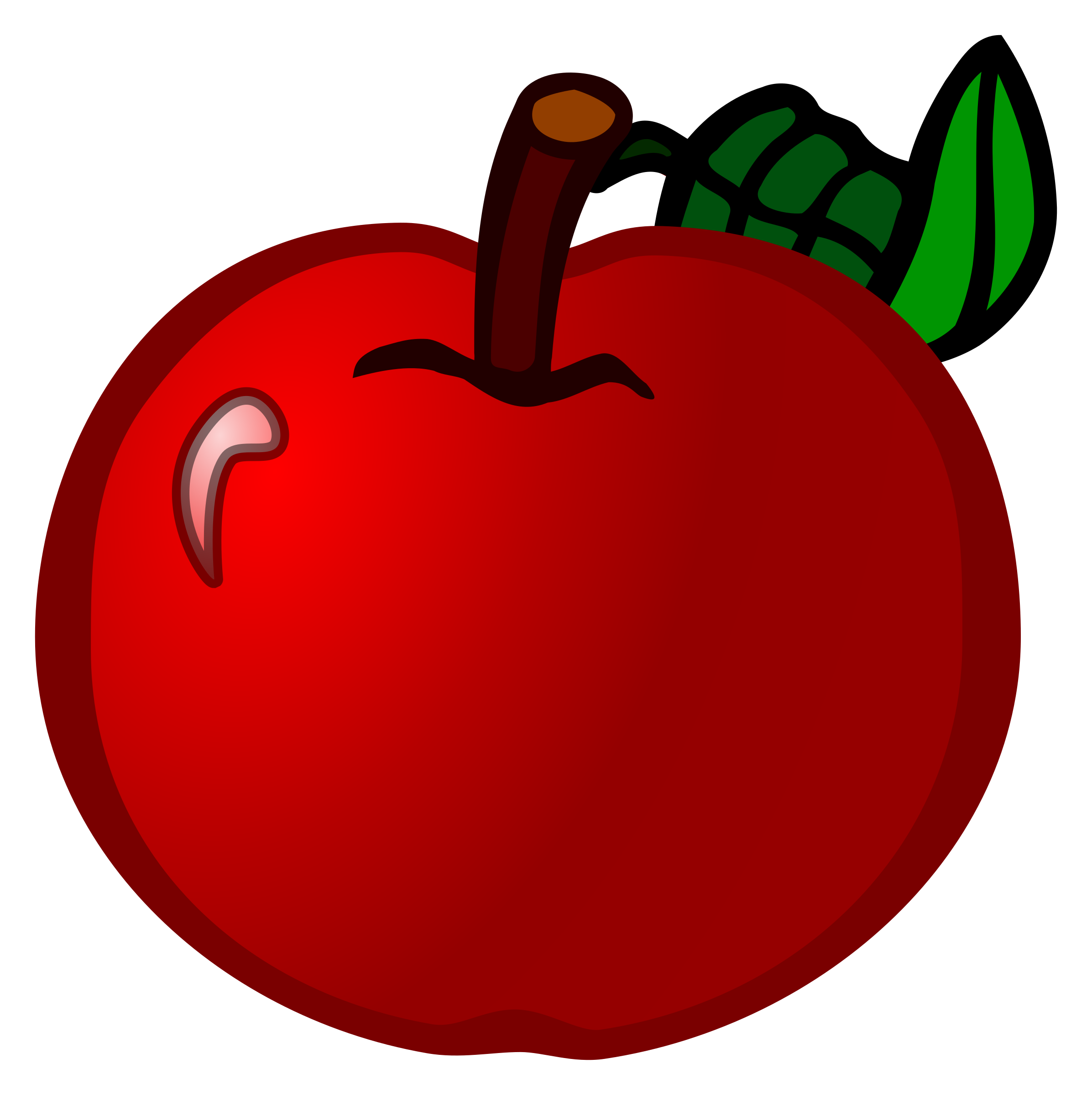 apple - coloured by frankes