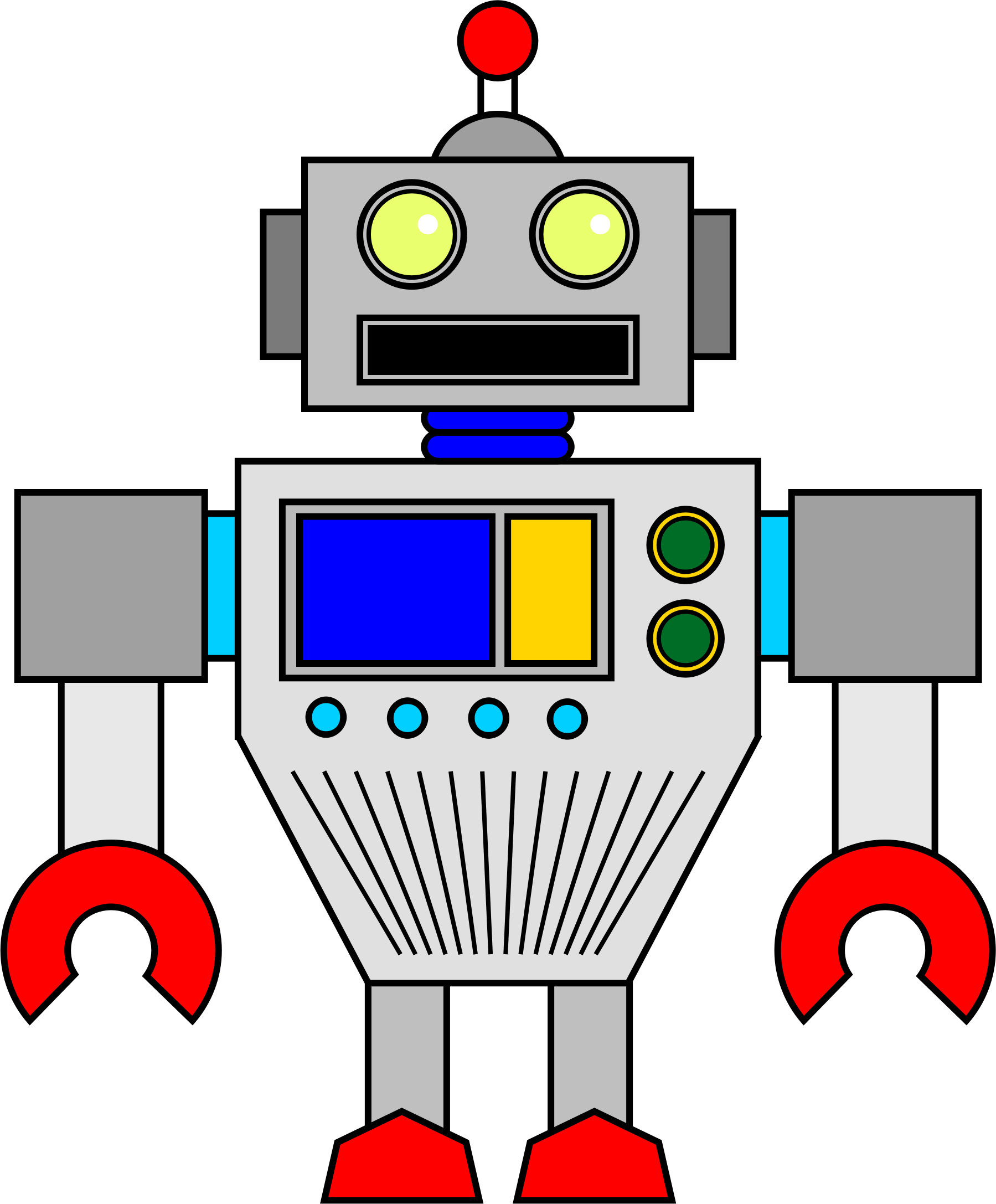 clipart random robot rh openclipart org random facts clip art random clip art free