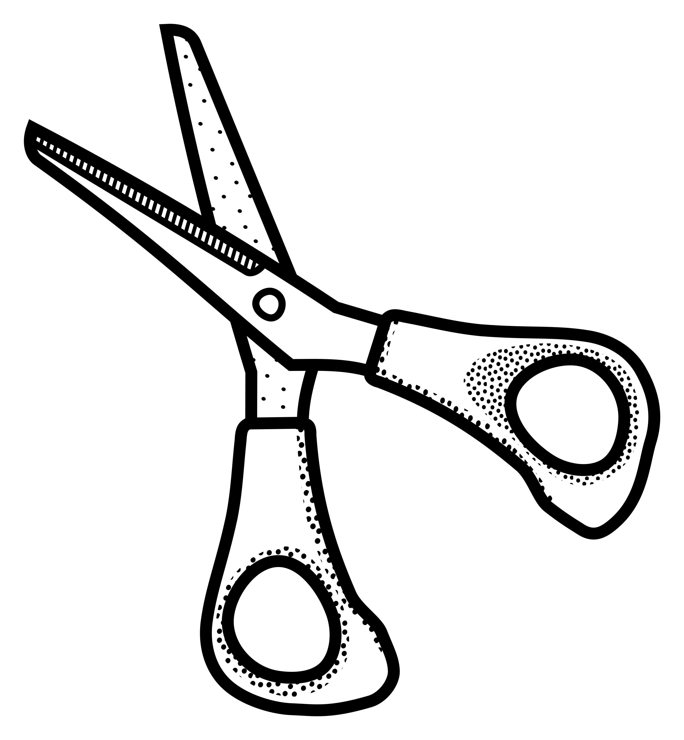 Clipart Scissors Lineart