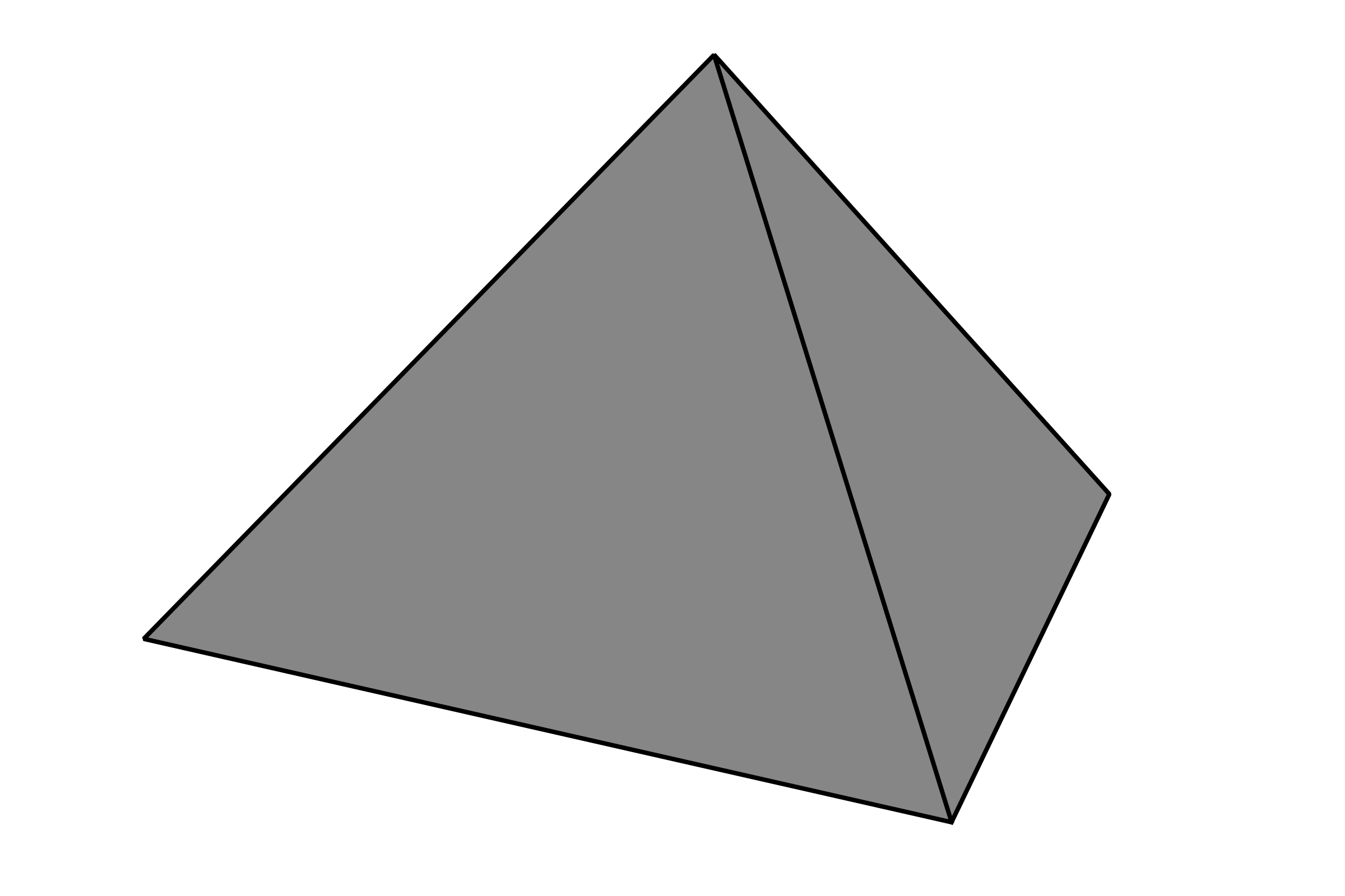 Simple Pyramid - grey by Sonshine_Penguin