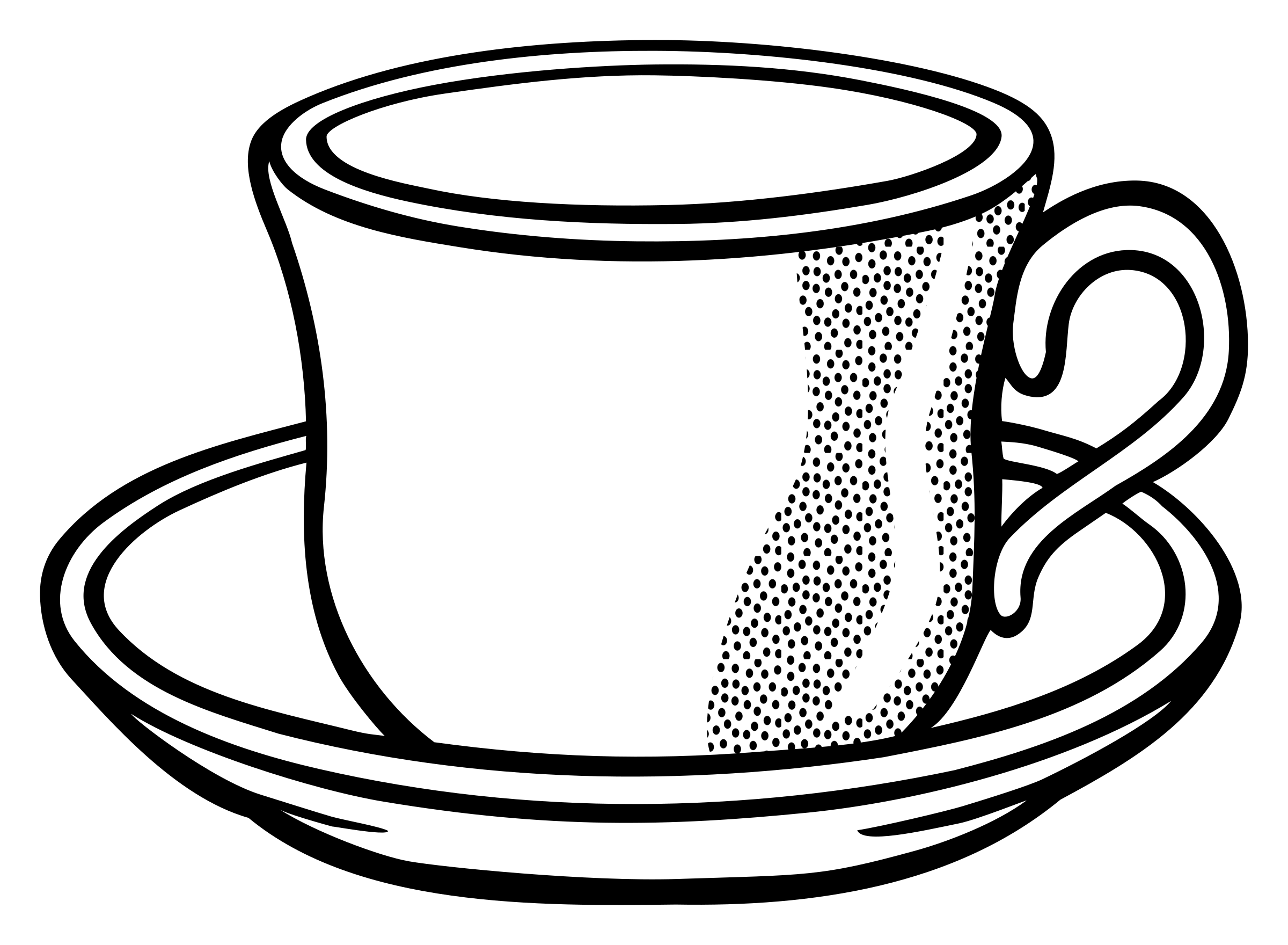 Tasse clipart  Clipart - cup - lineart