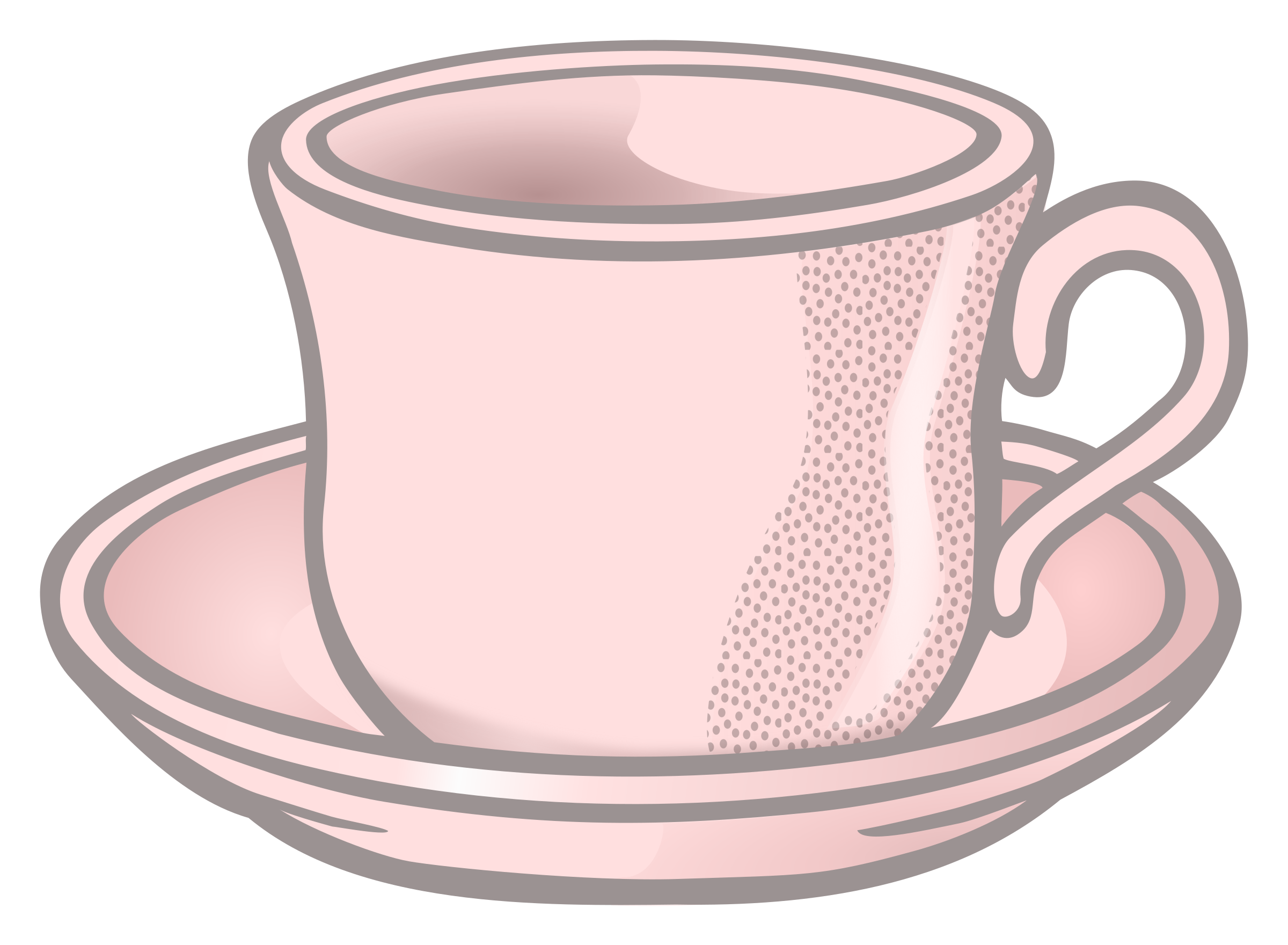 Tasse clipart  Clipart - cup - coloured