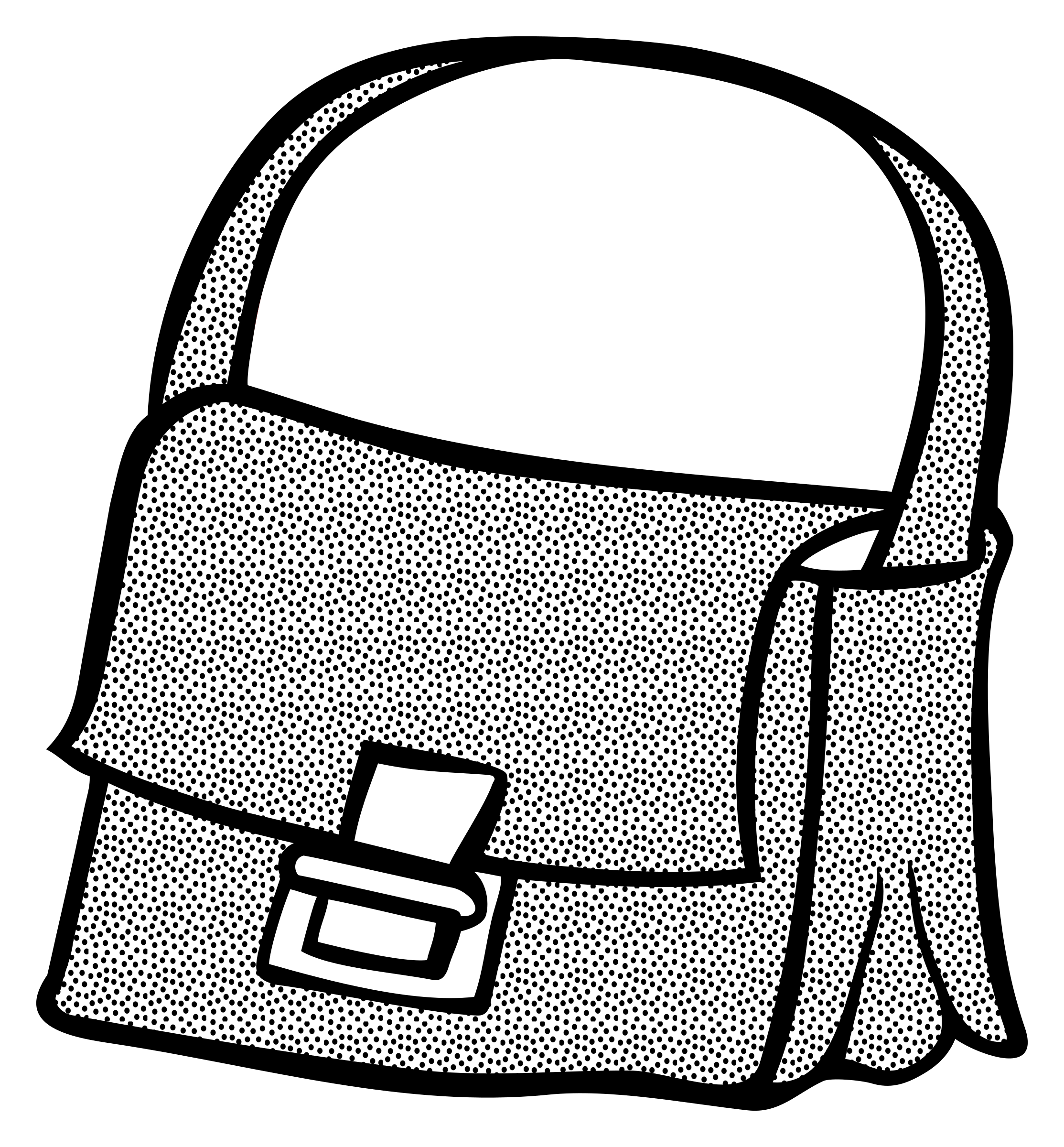 bag - lineart by frankes