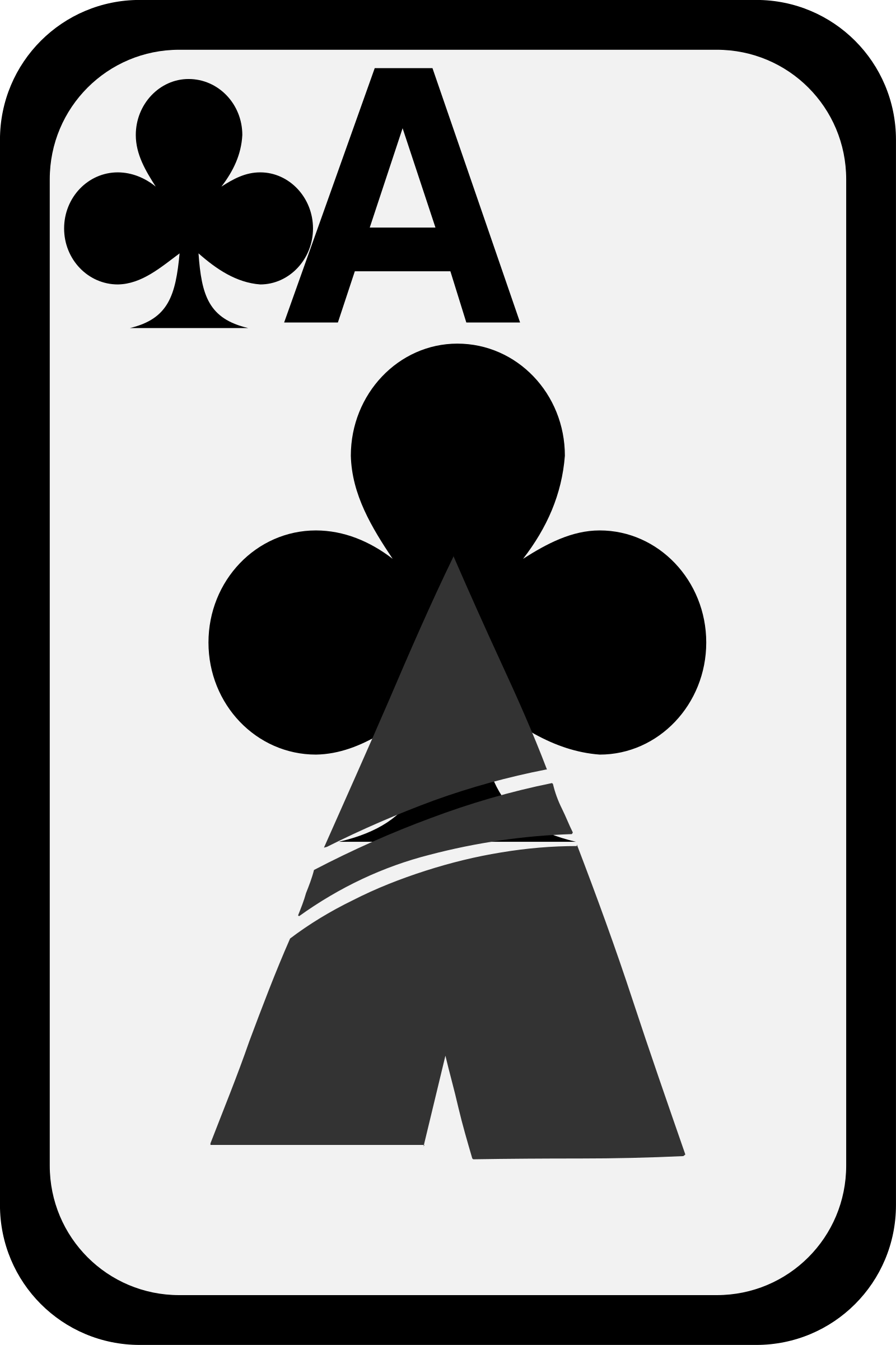 Ace of Clubs by momoko