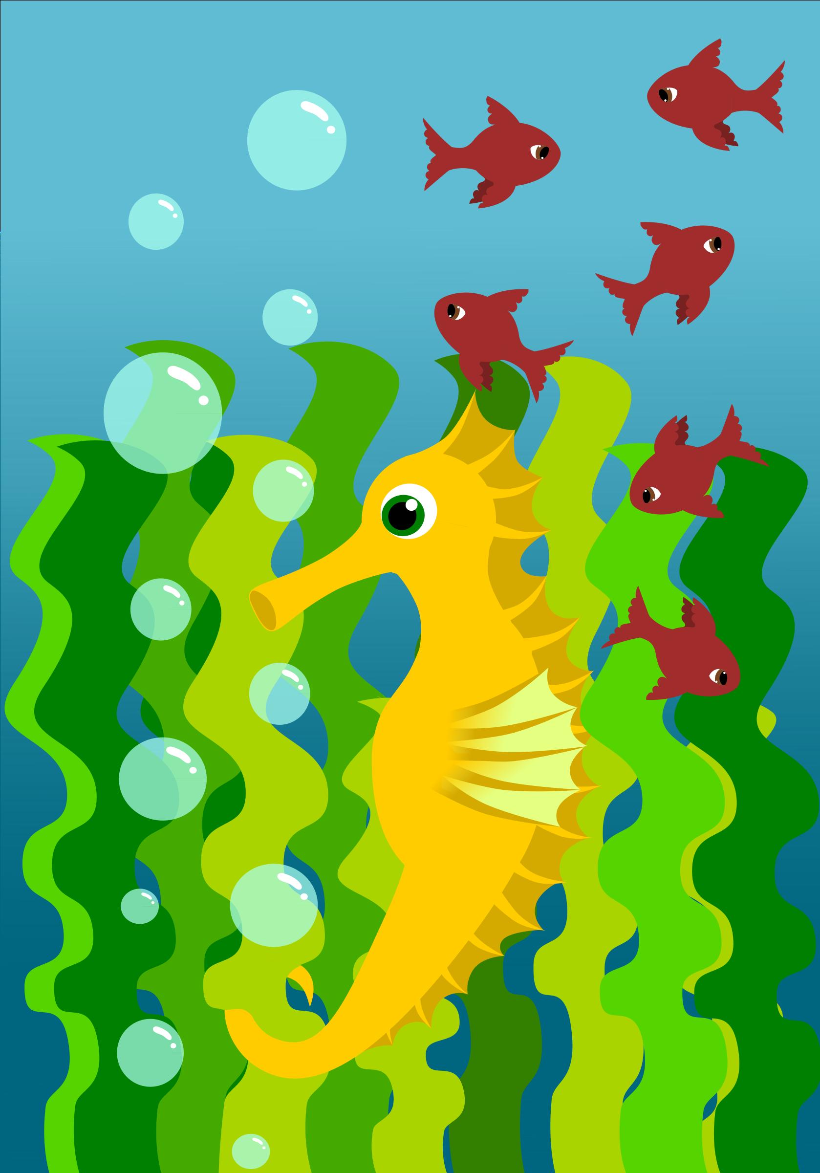 Clipart - yellow seaho...