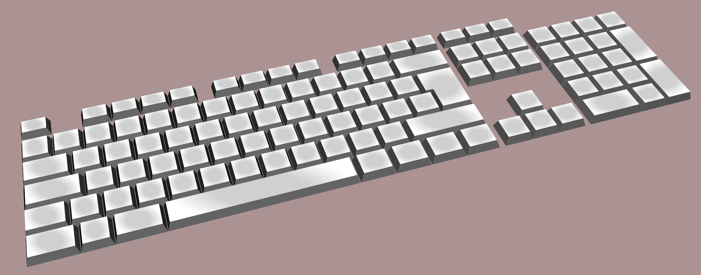 keyboard simple by Keistutis