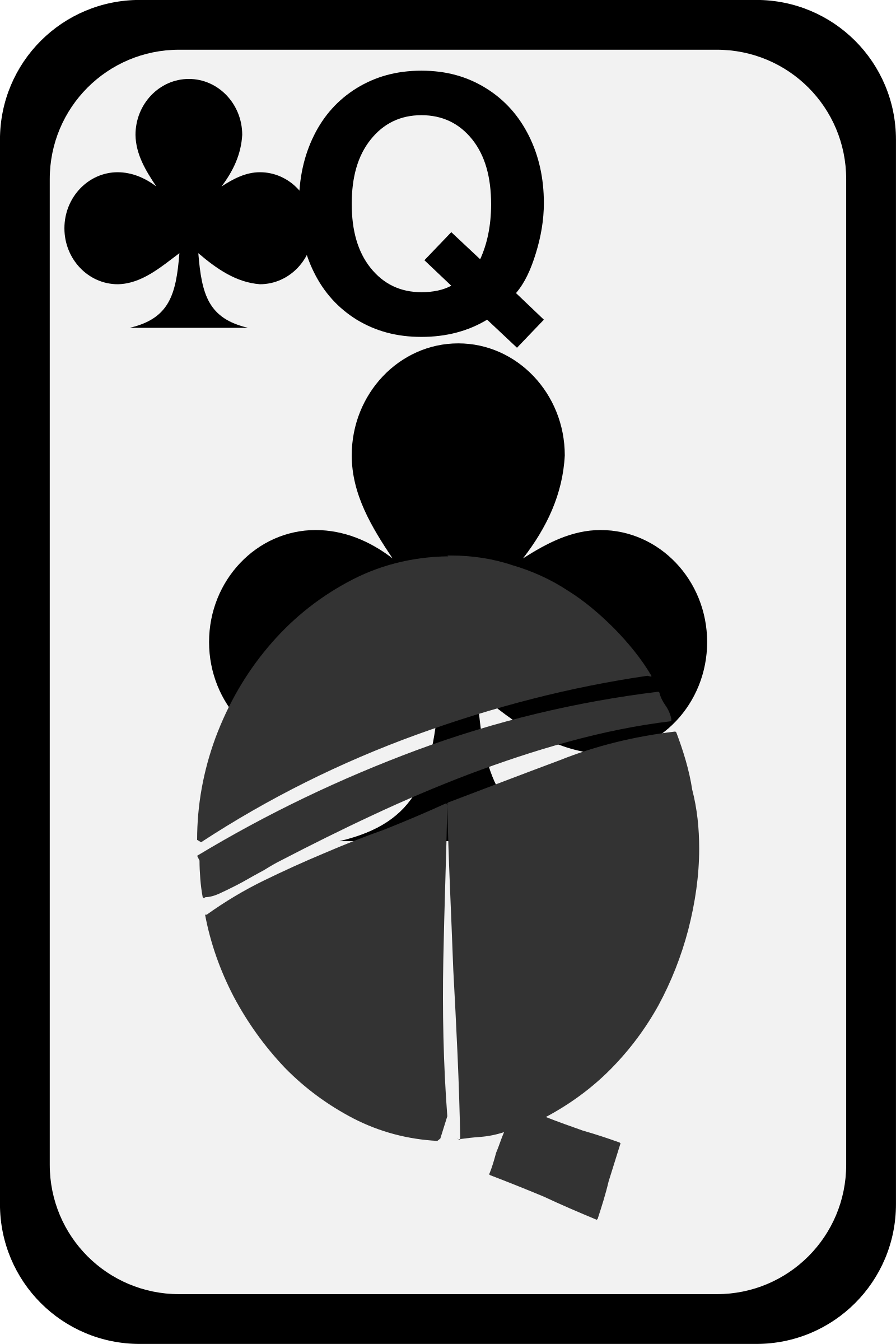 Queen of Clubs by momoko
