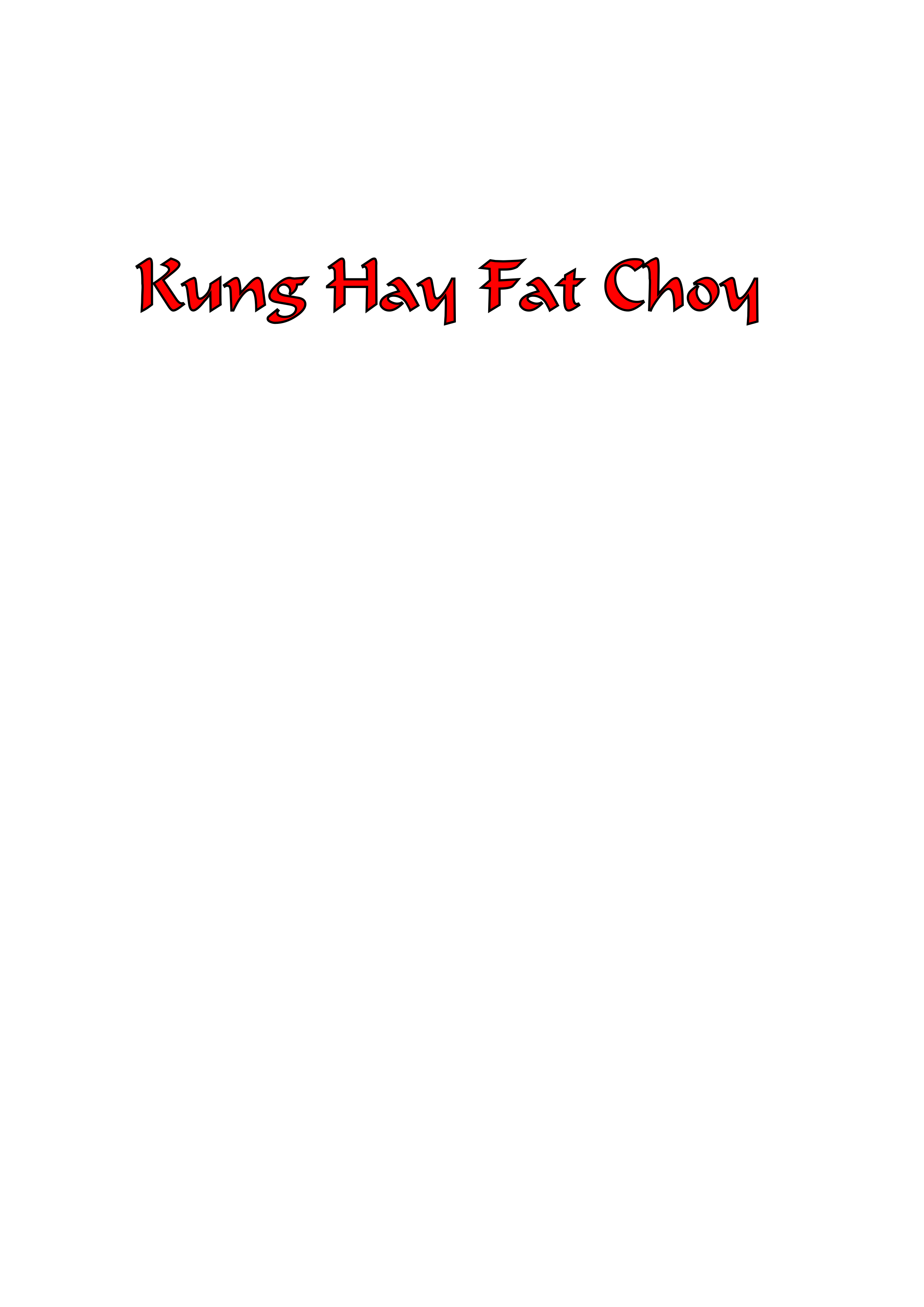 Kung Hay Fat Choy by Cahroozer