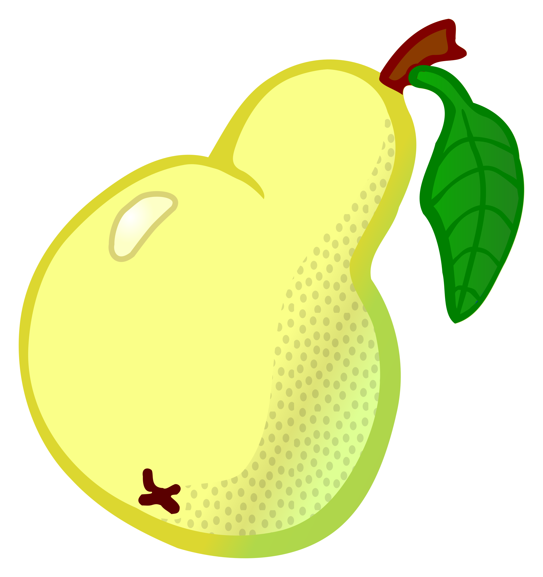 pear - coloured by frankes