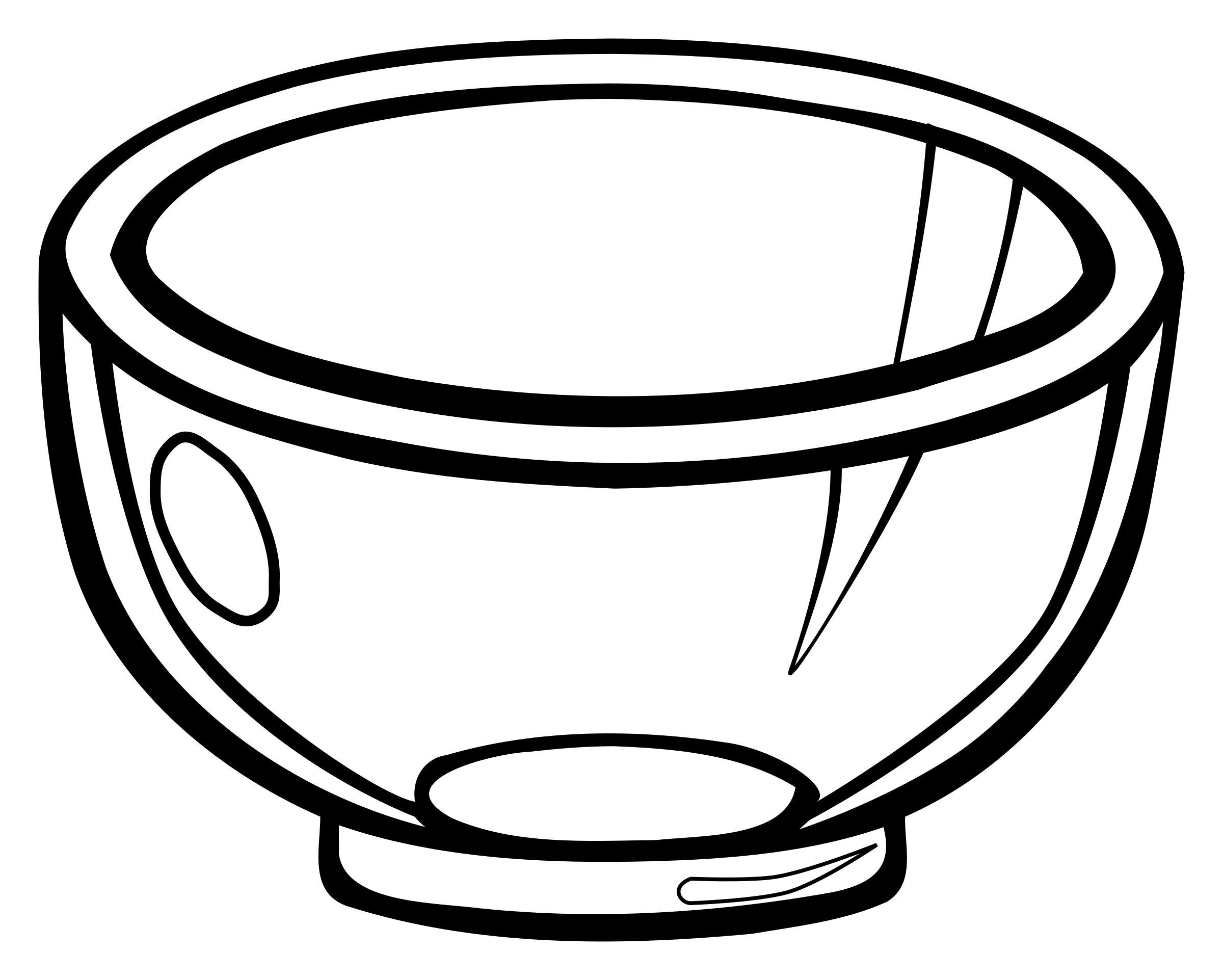 bowl - lineart by frankes