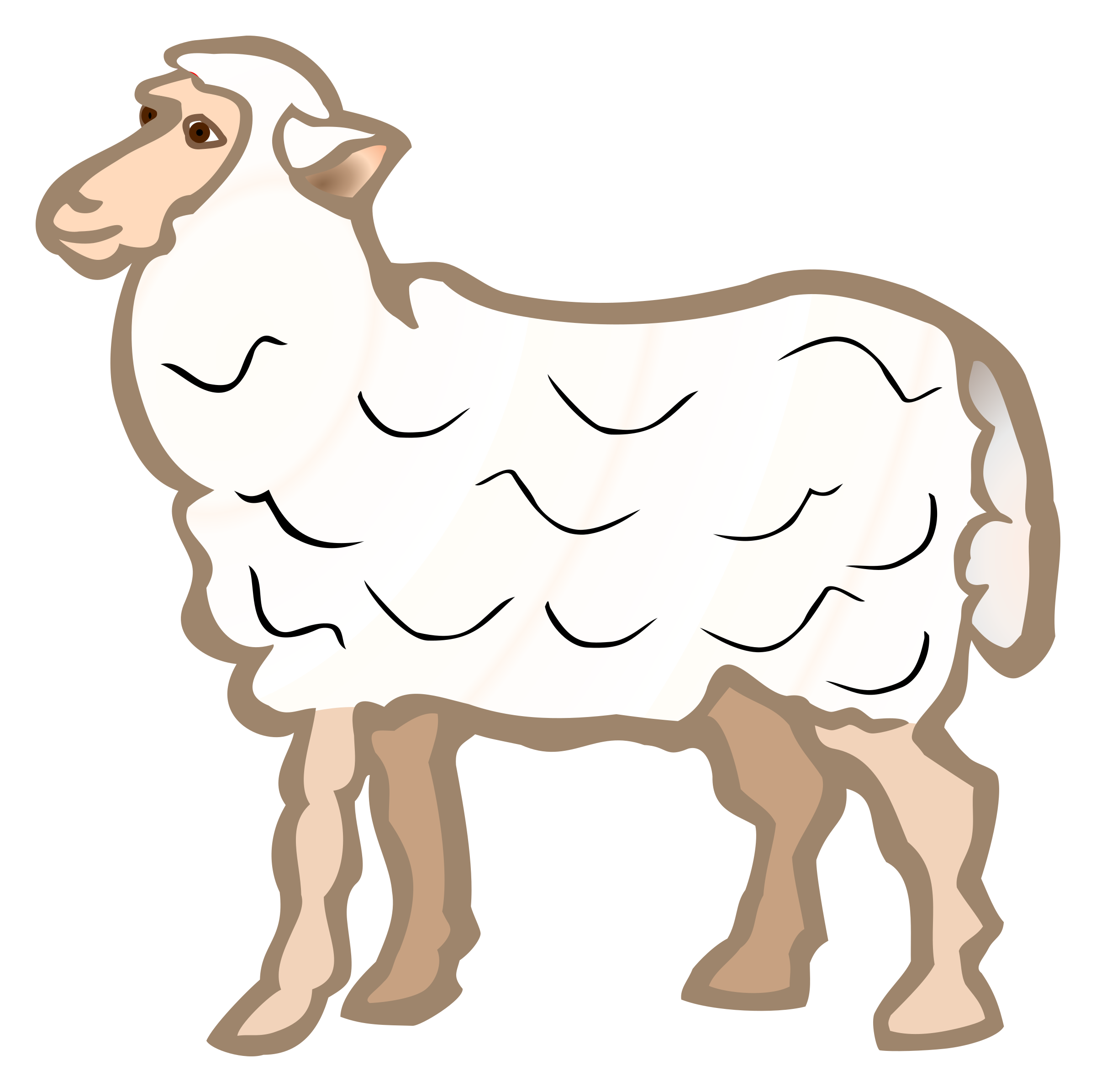 sheep - coloured by frankes