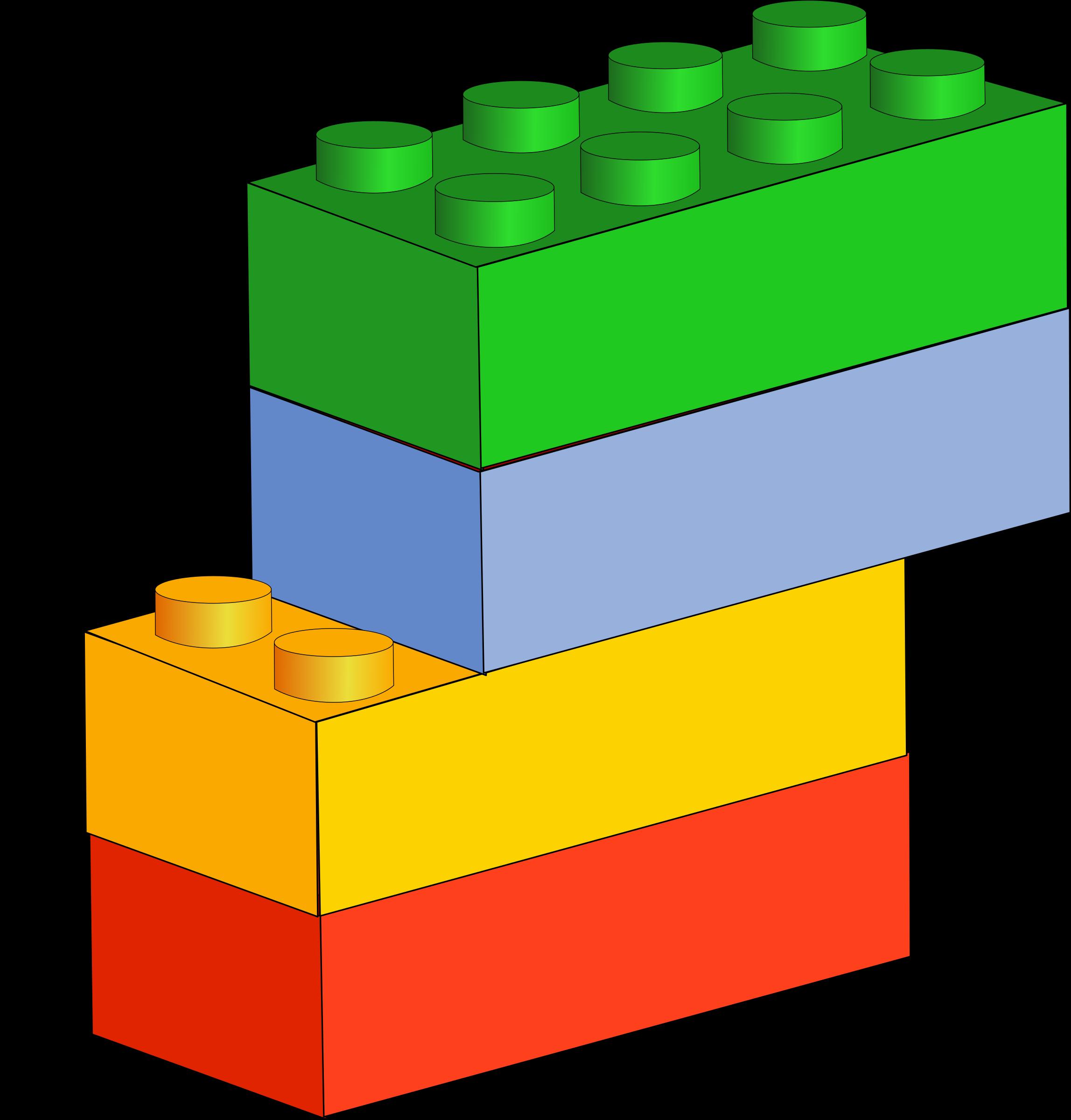 Clipart - Bricks 2