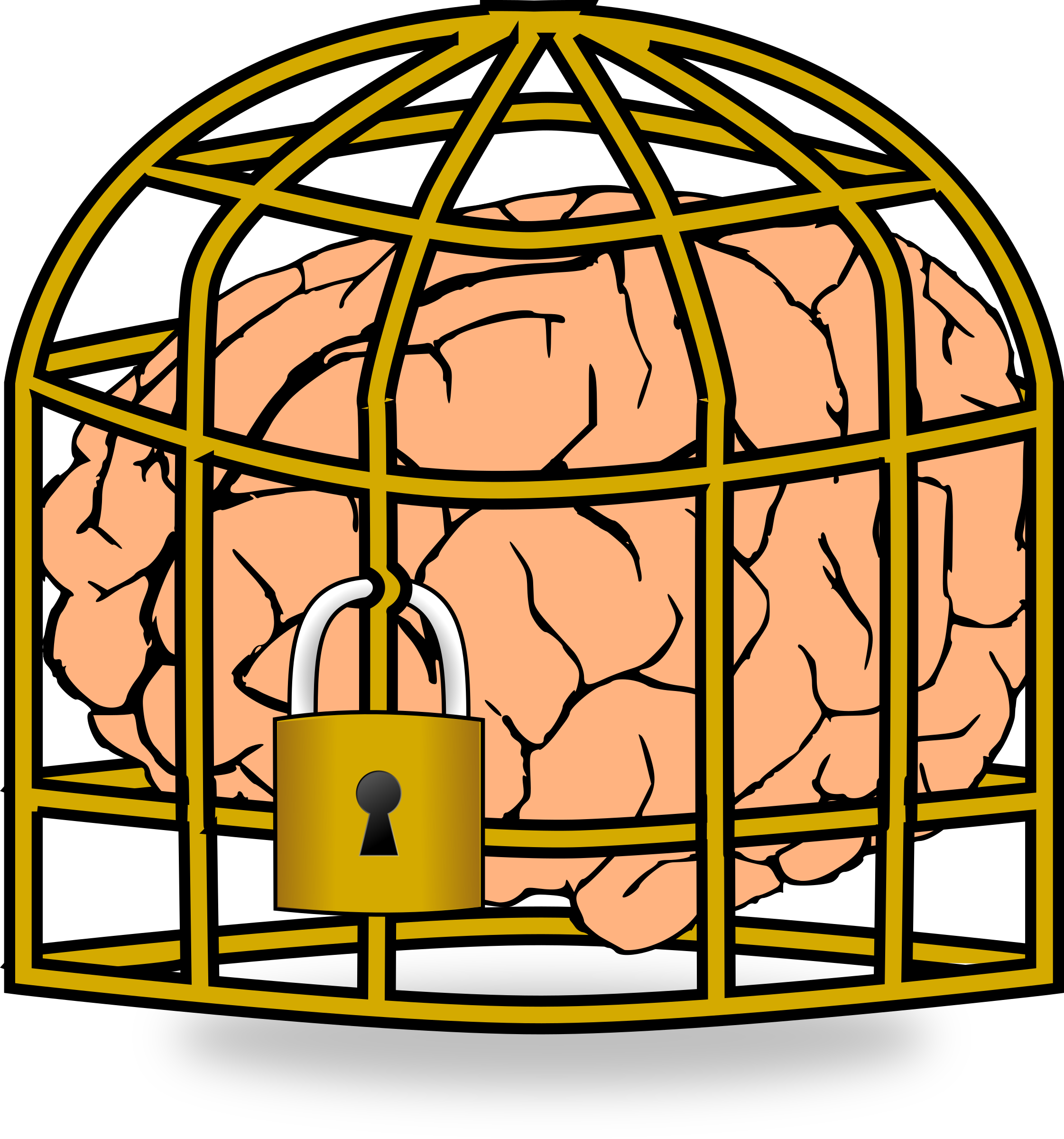 Clipart - Fixed Brain Set