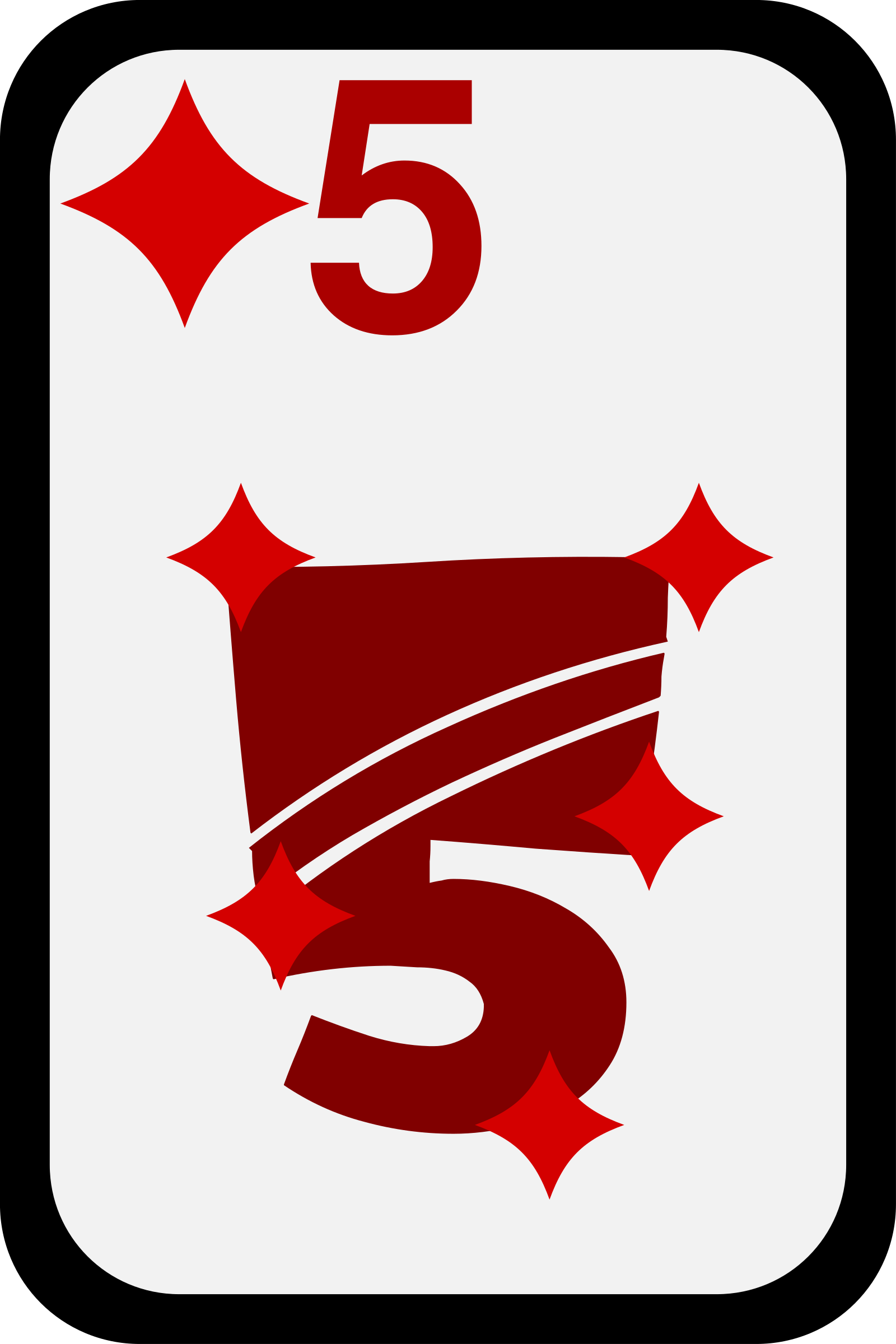 Five of Diamonds by momoko