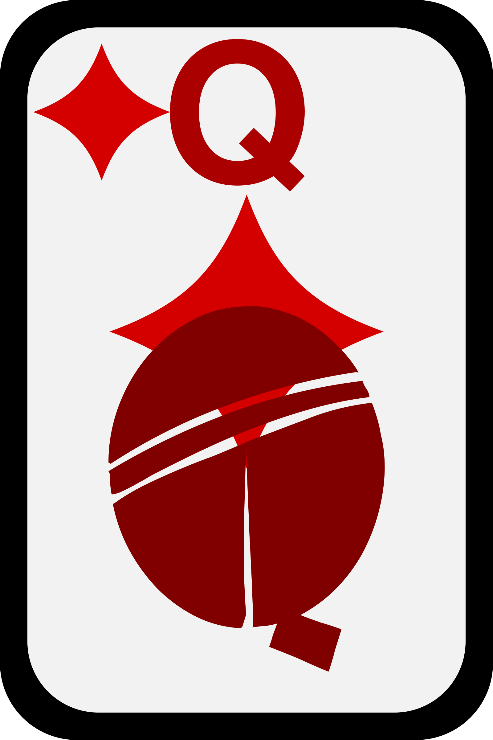 Queen of Diamonds by momoko