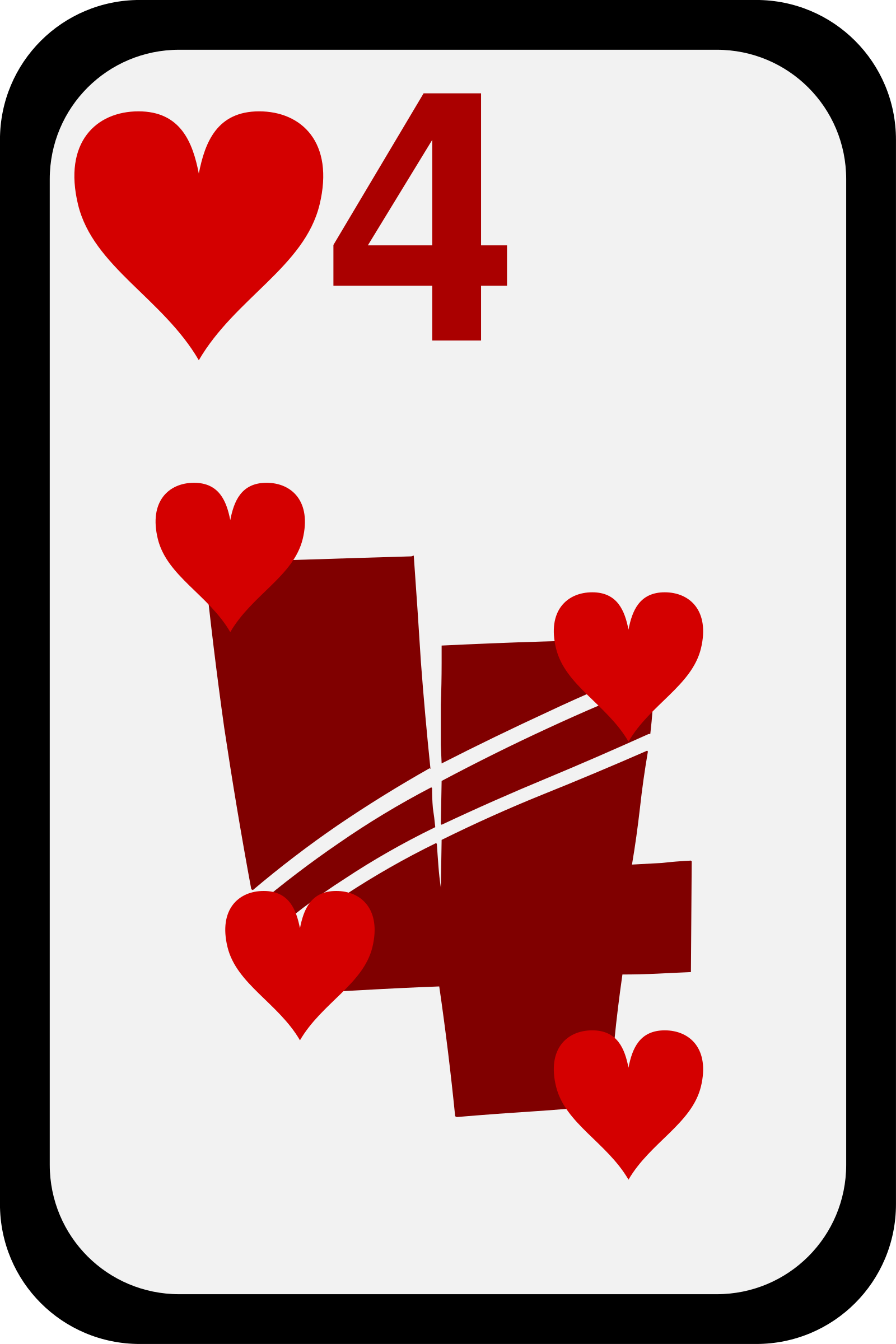 Four of Hearts by momoko