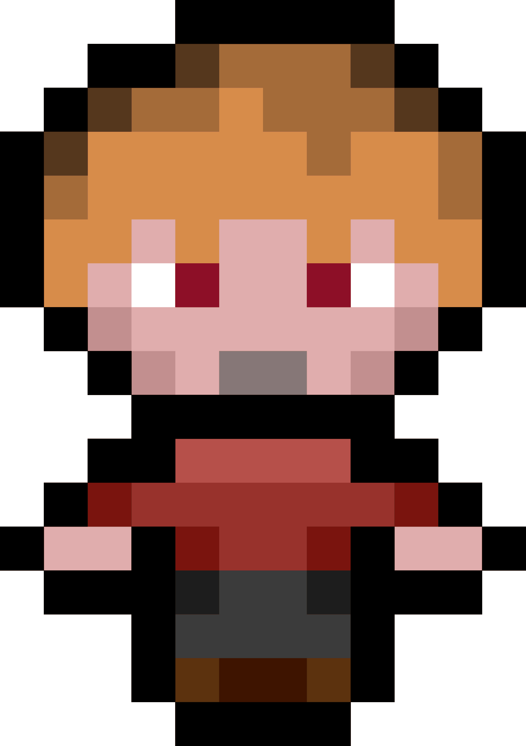 Pixel Character by isaiah658