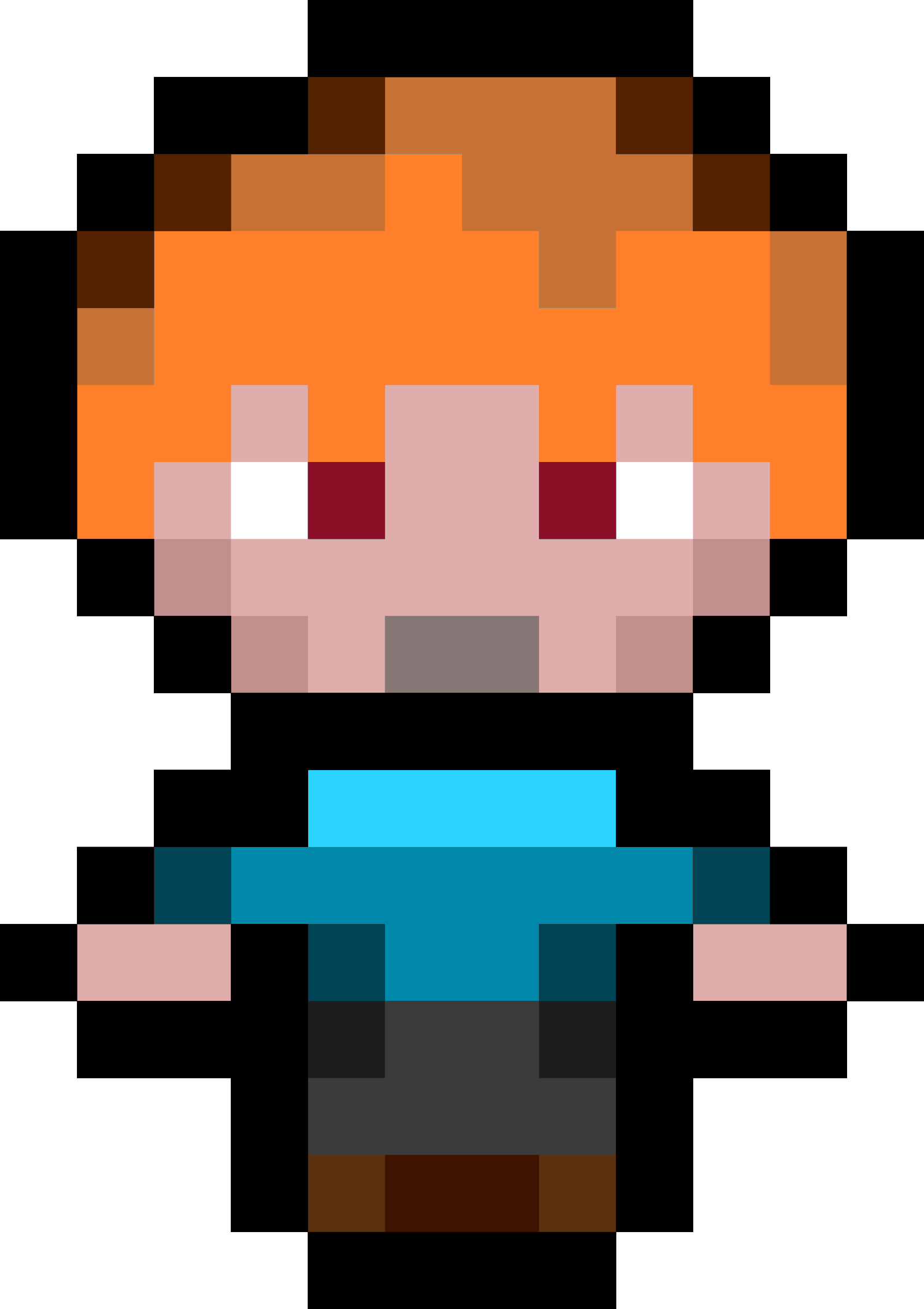 Pixel Character 2 by isaiah658