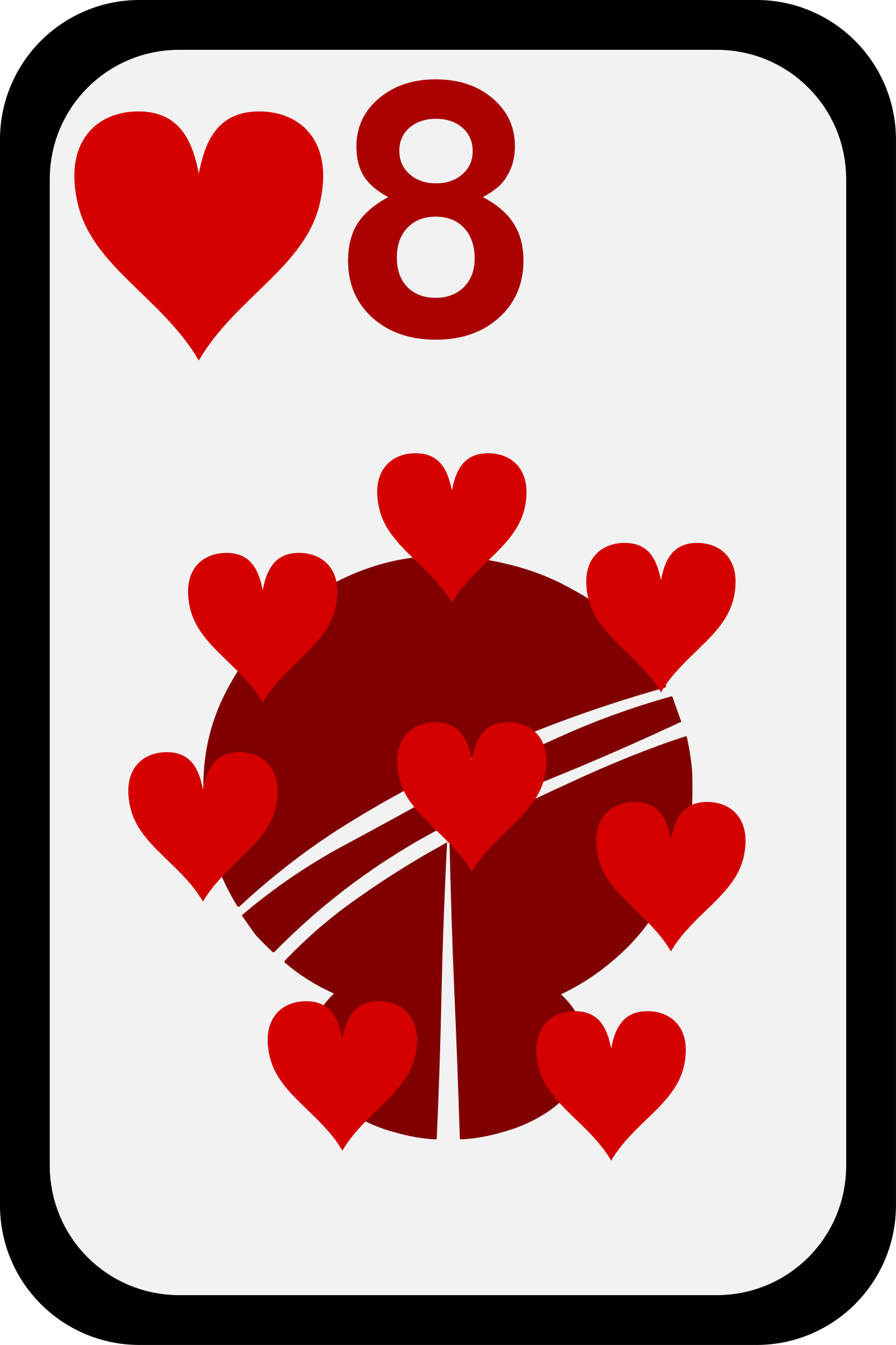 Eight of Hearts by momoko