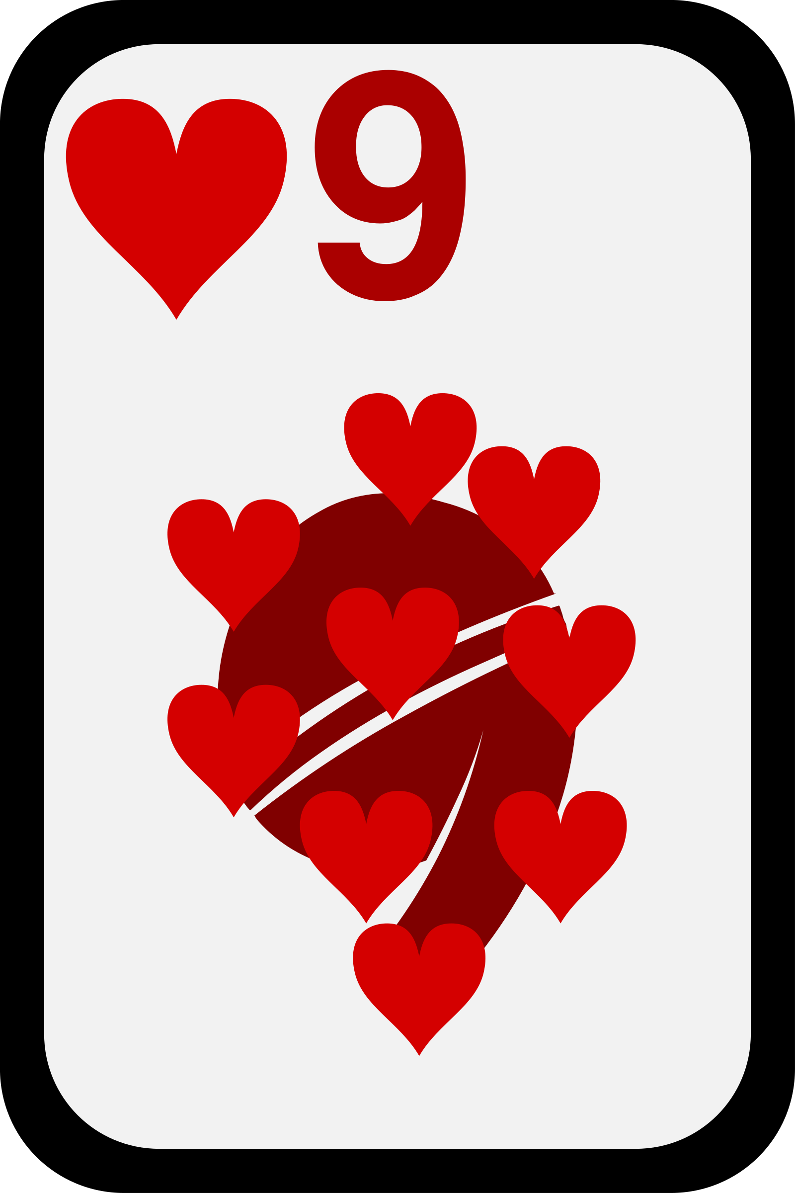 Nine of Hearts by momoko