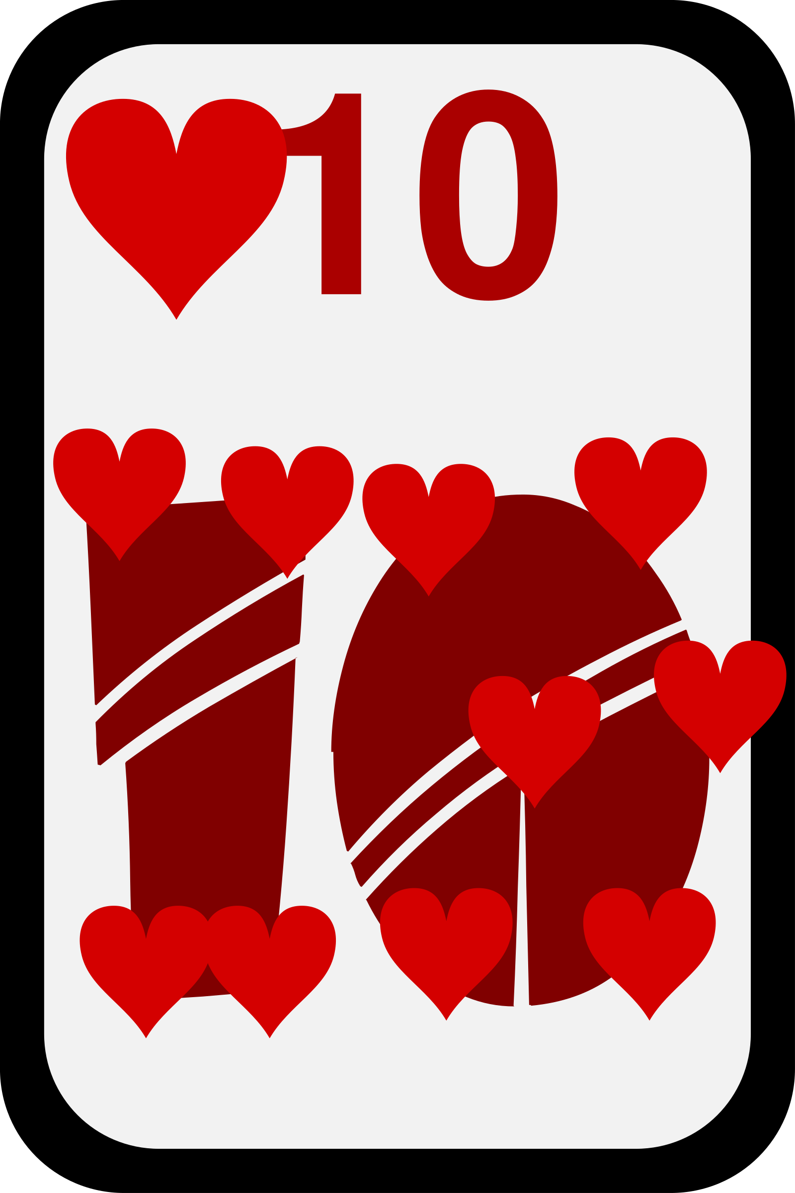 Ten of Hearts by momoko