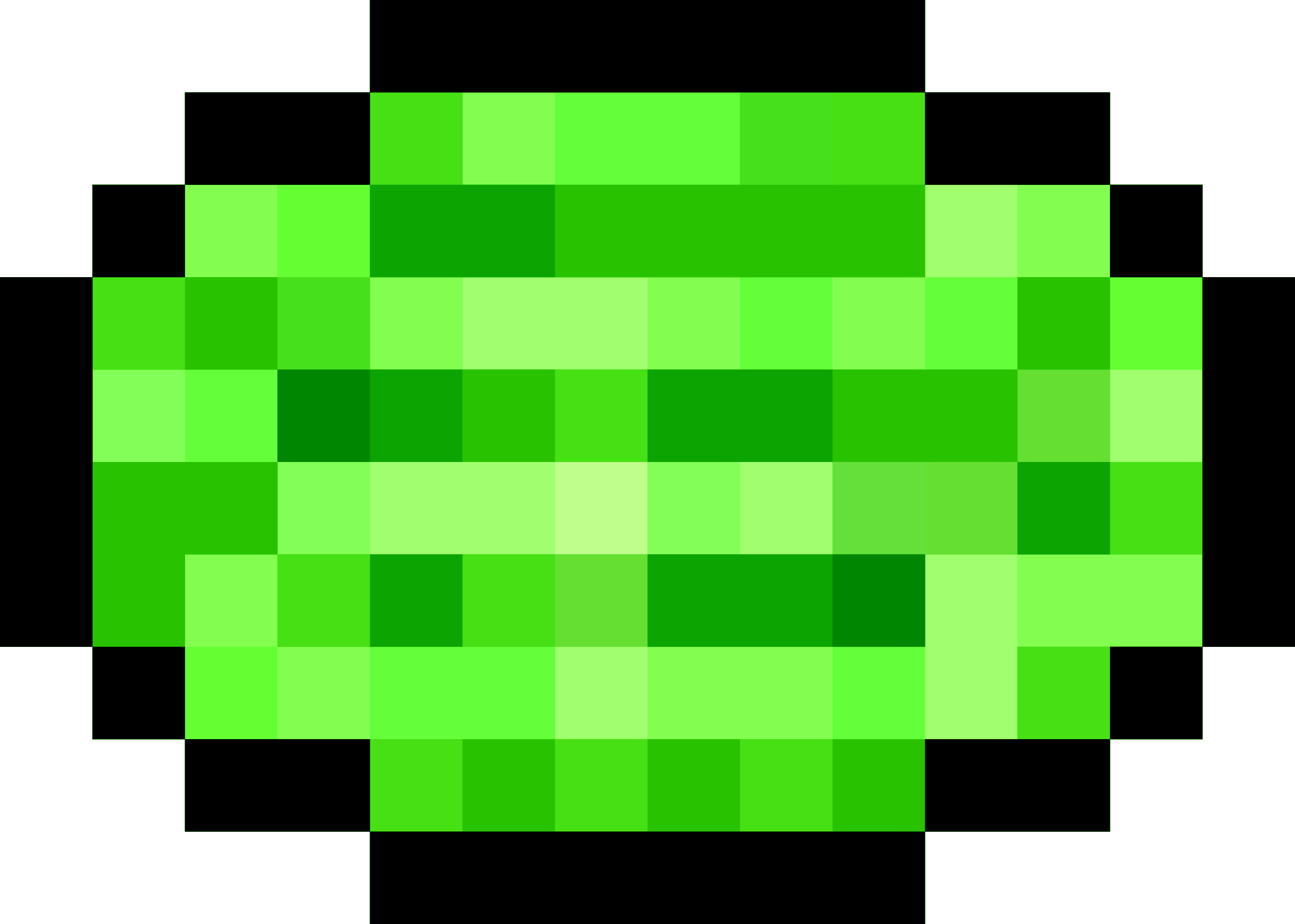 Pixel Watermelon by isaiah658
