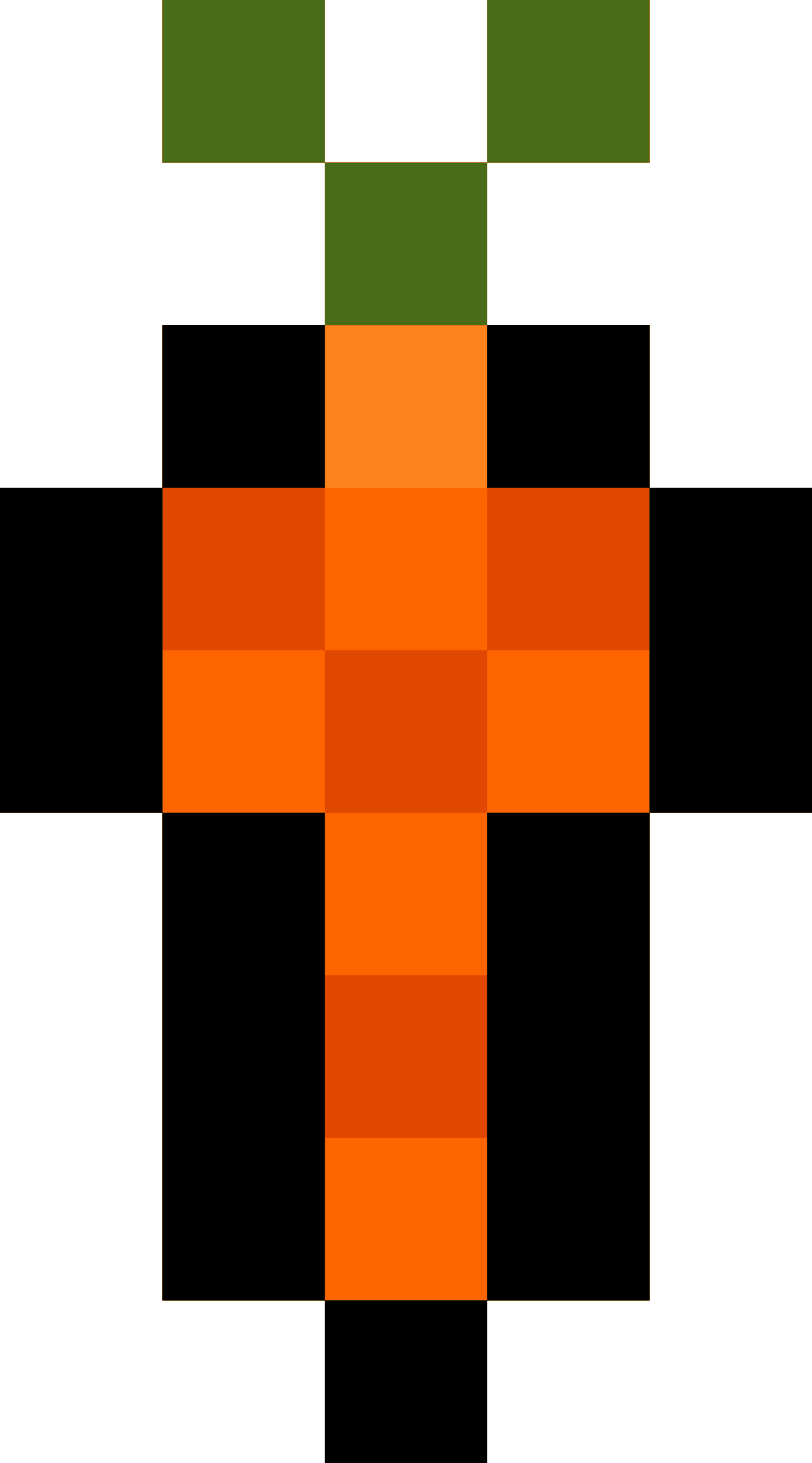 Pixel Carrot by isaiah658