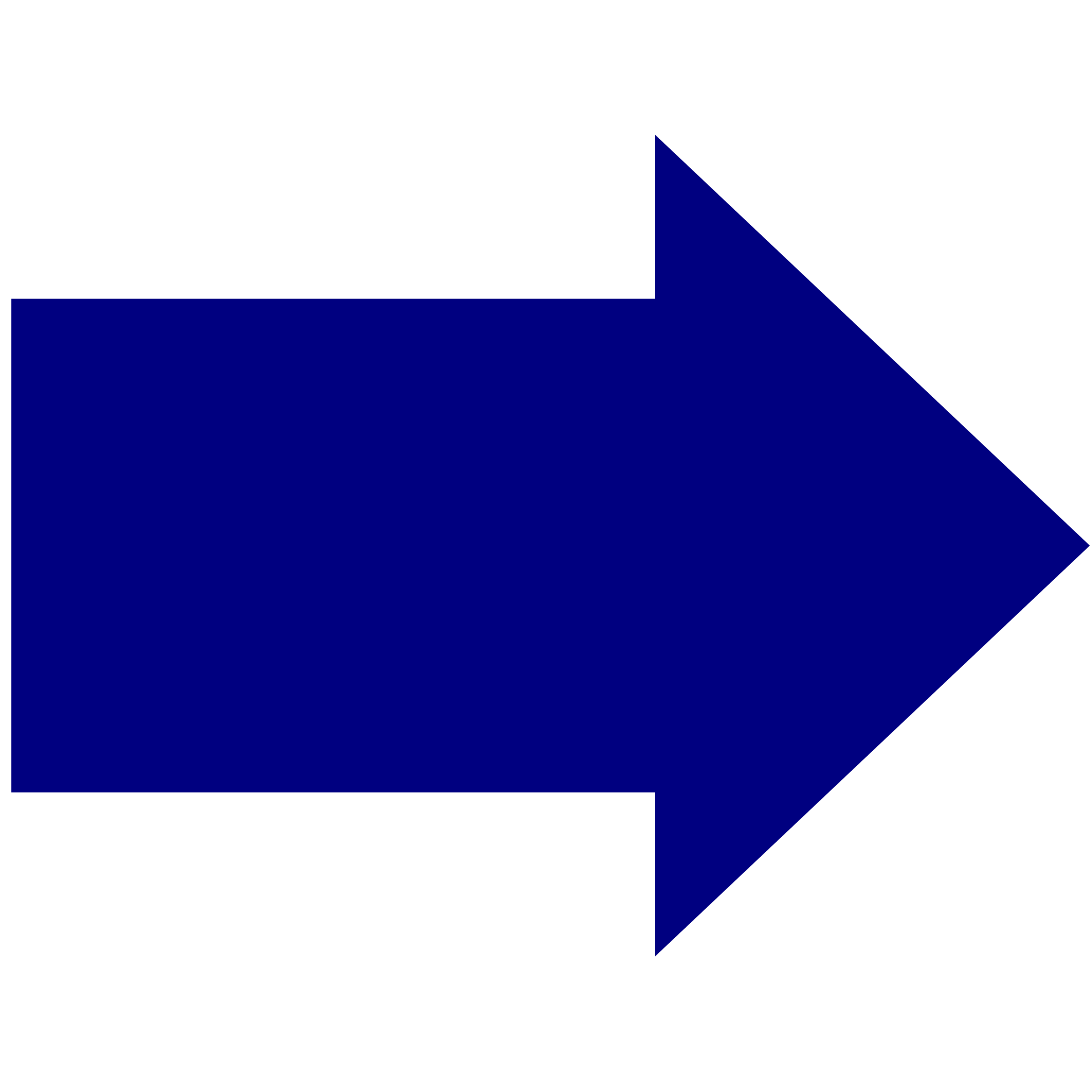 blue arrow by computating
