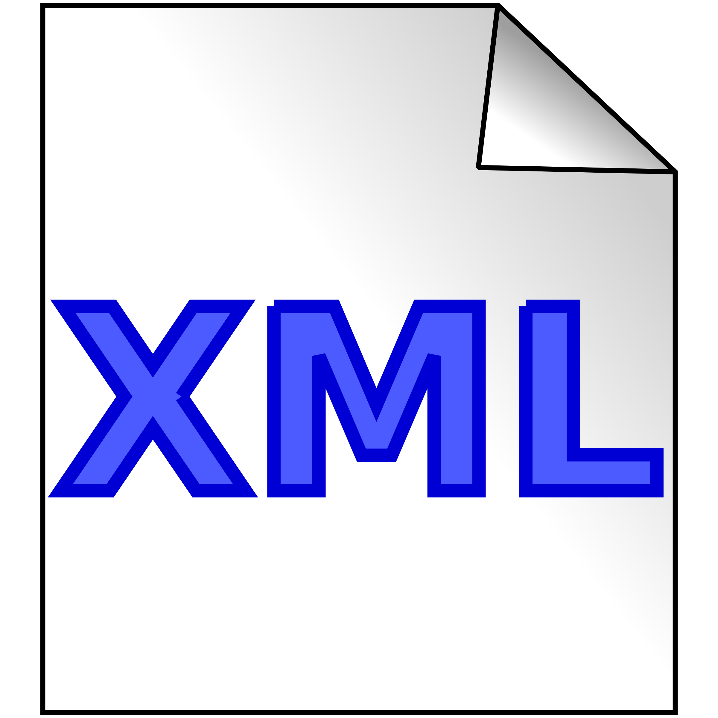 xml file by computating