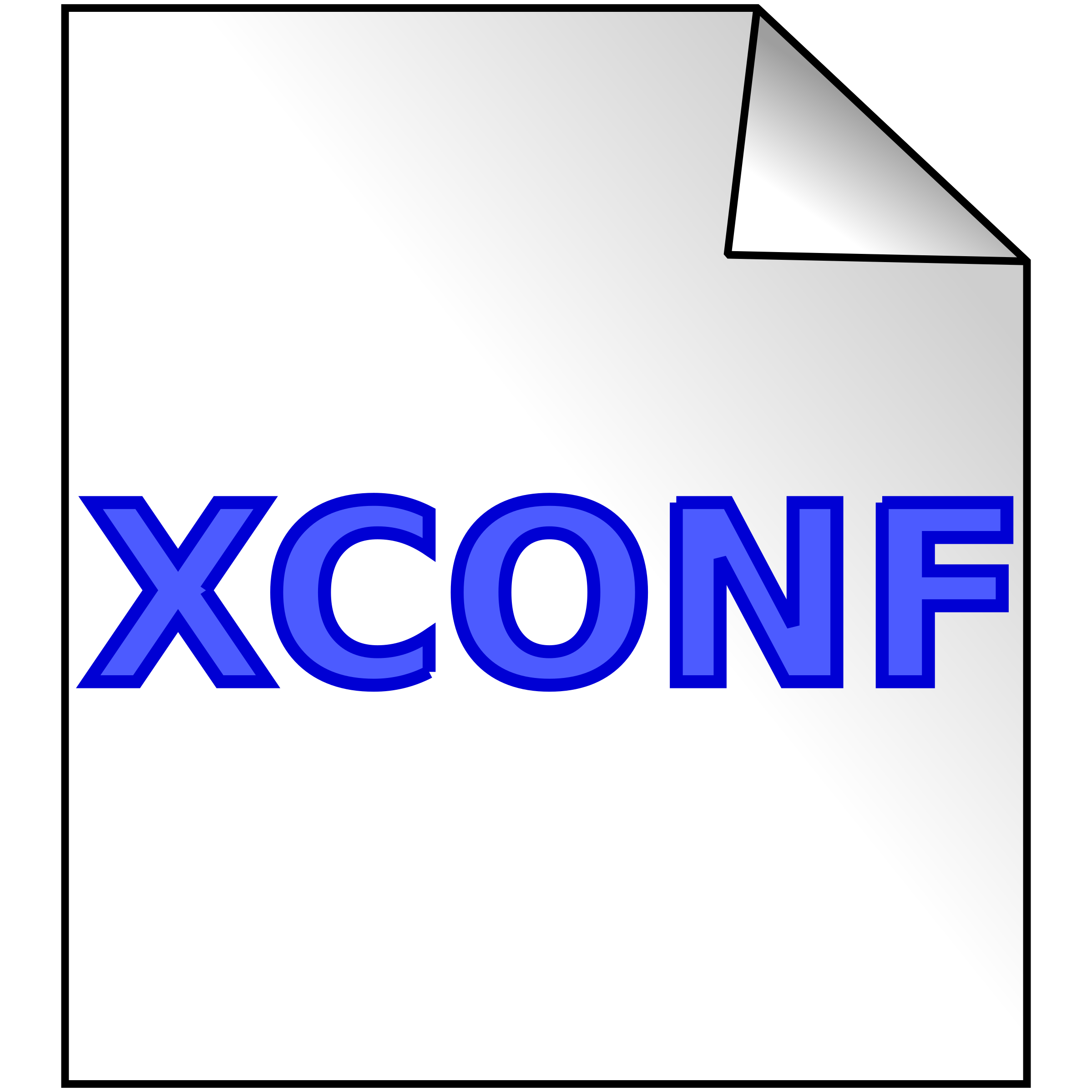 xconf file by computating