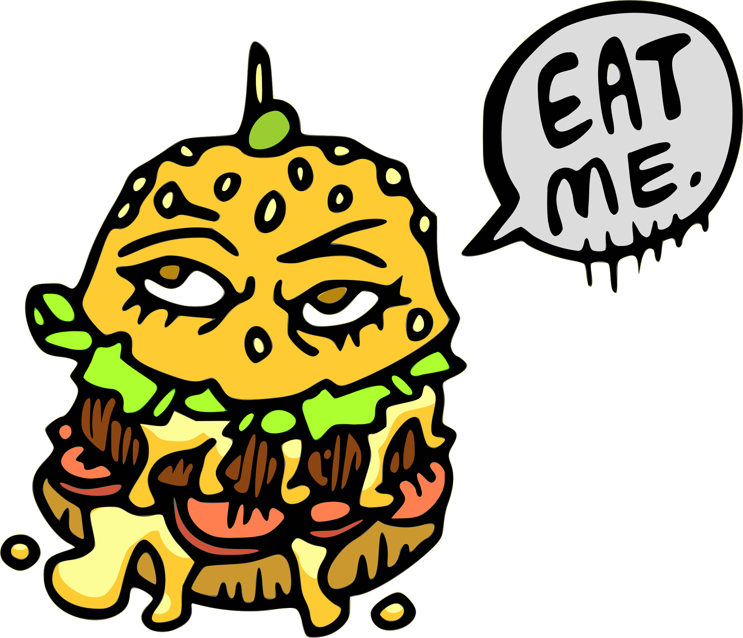 Eat This Burger by Ghost Guts