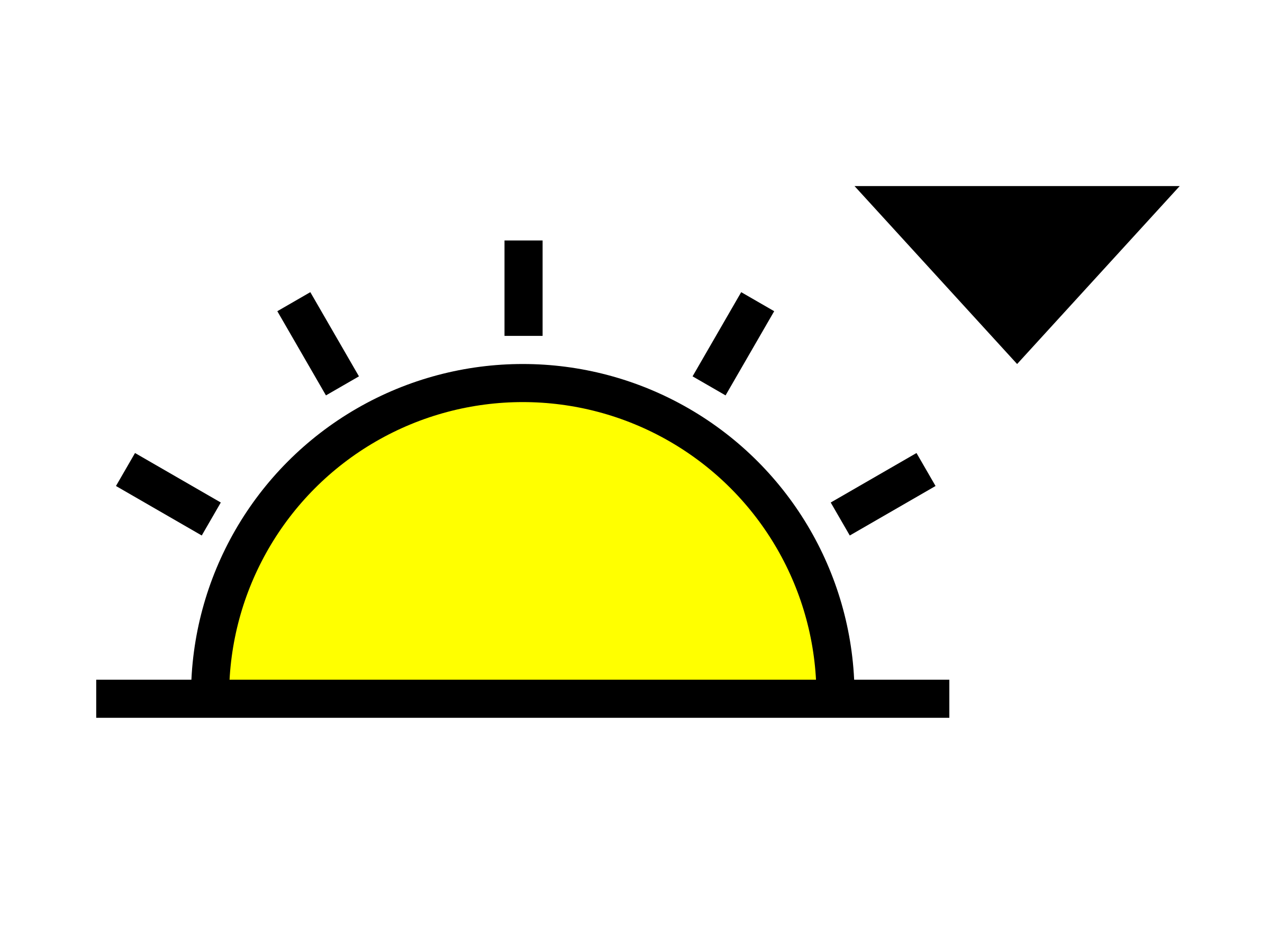 Sunset symbol by bartovan