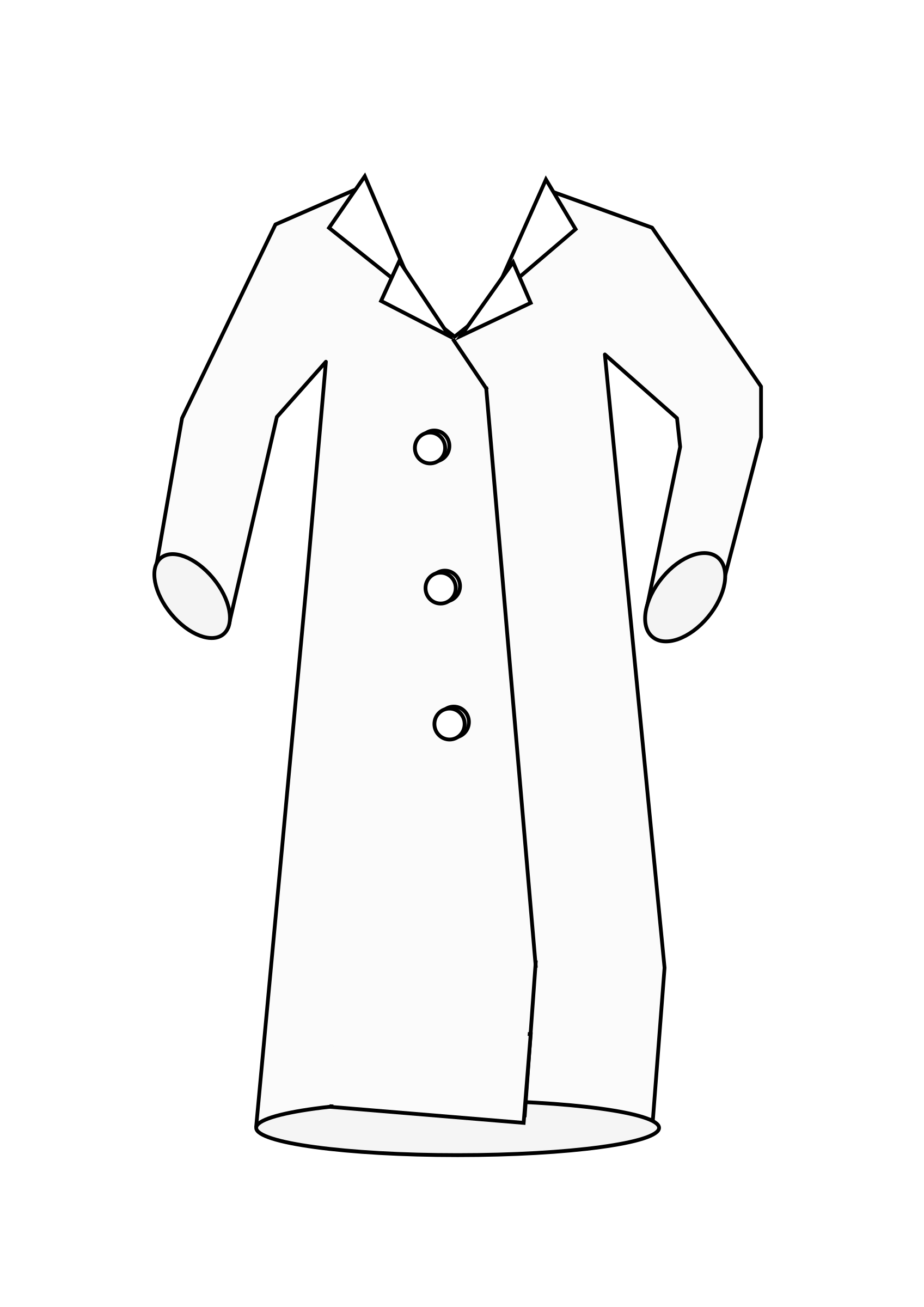 Laboratory Coat by barnheartowl