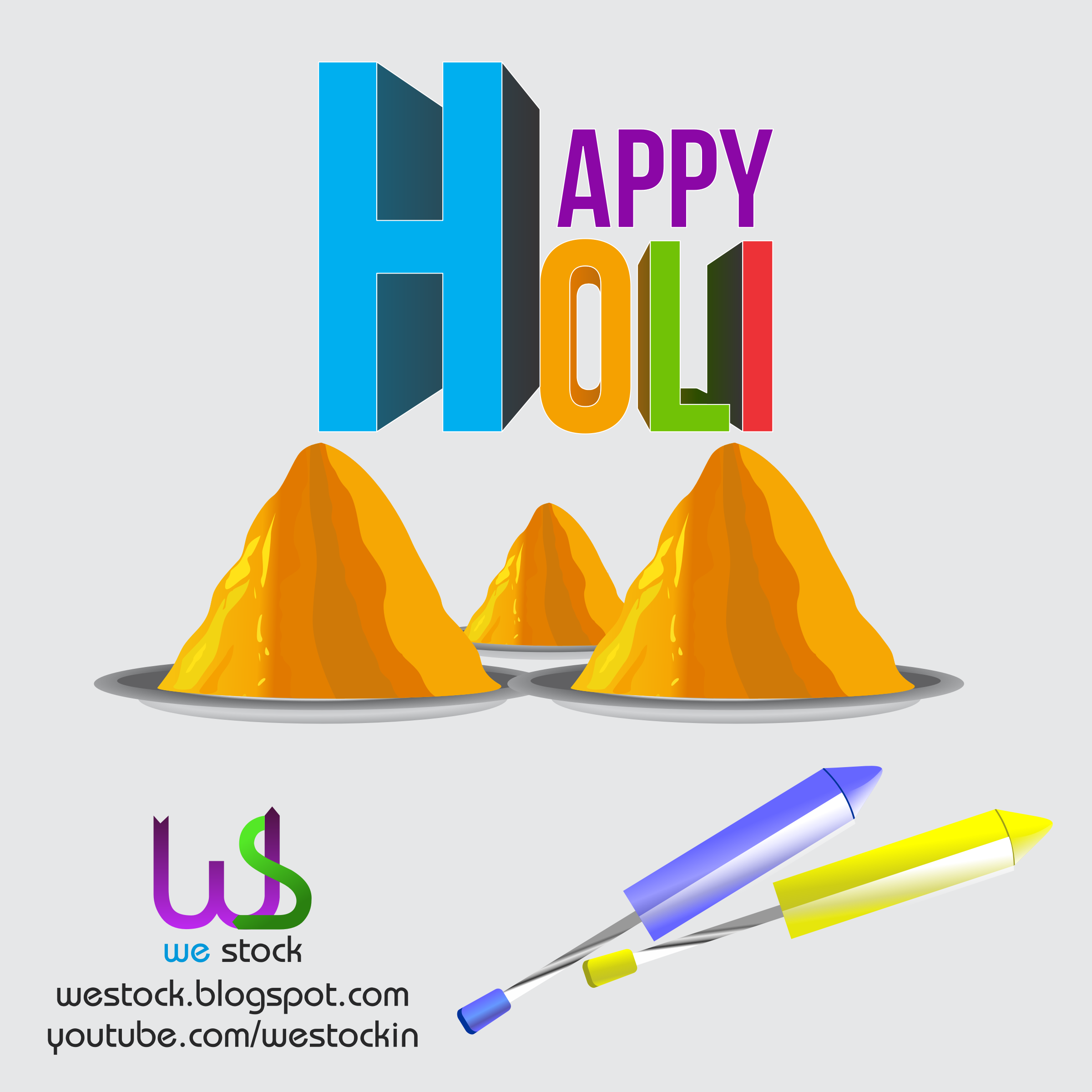 HAPPY HOLI COLORS IN THAL by westock