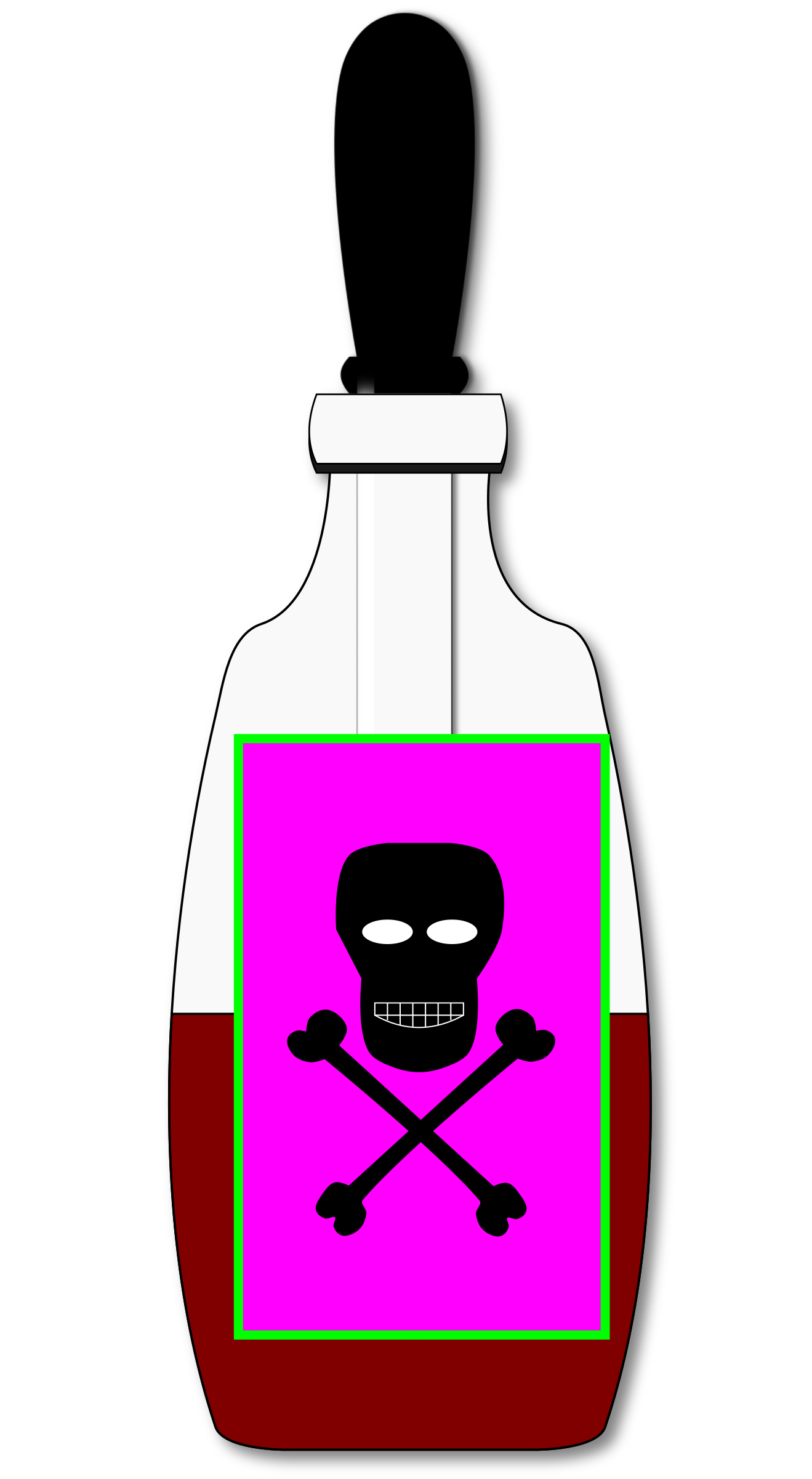 Poison Vial (closed) by algotruneman