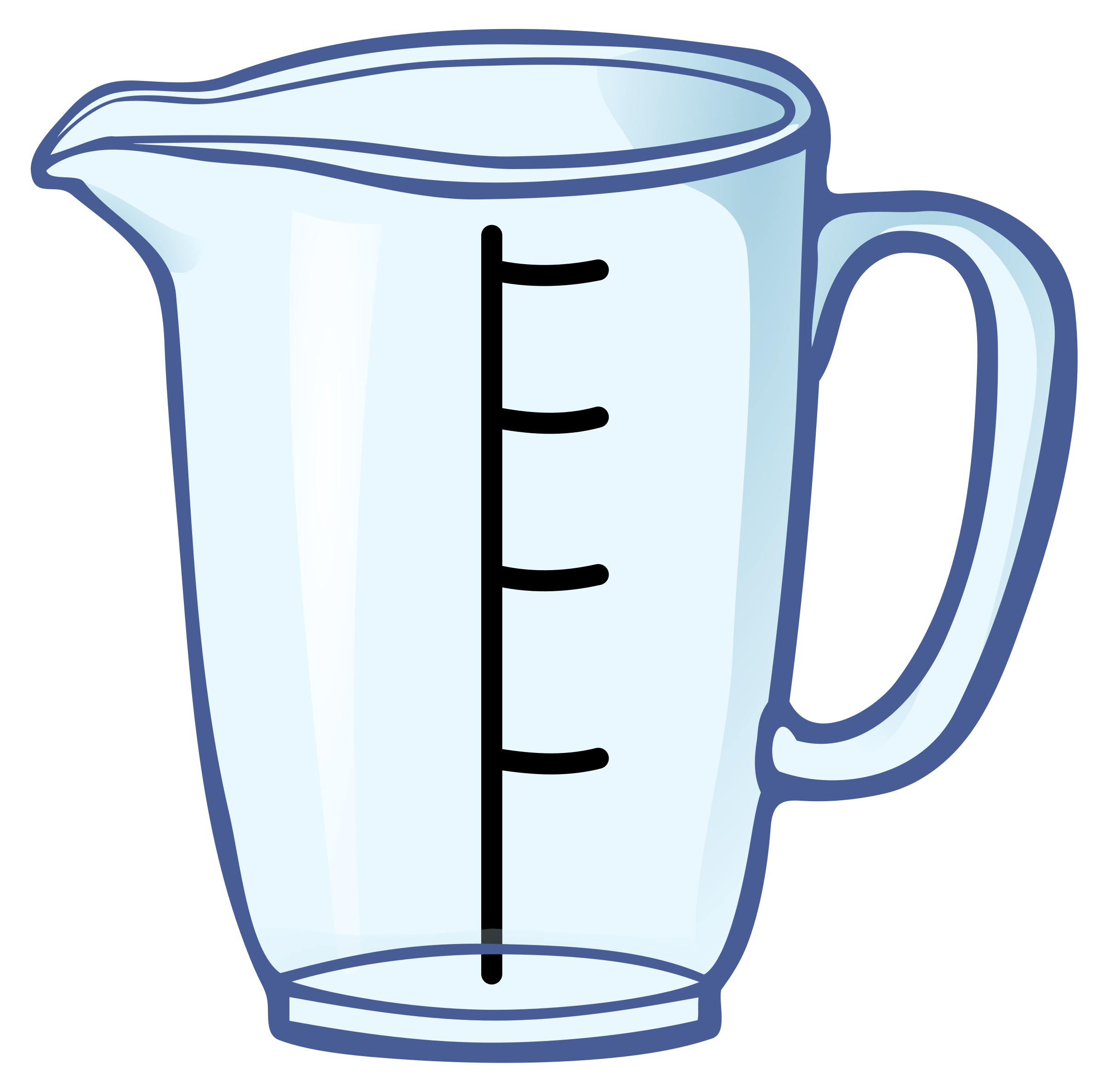 Messbecher clipart  Clipart - measuring cup - coloured