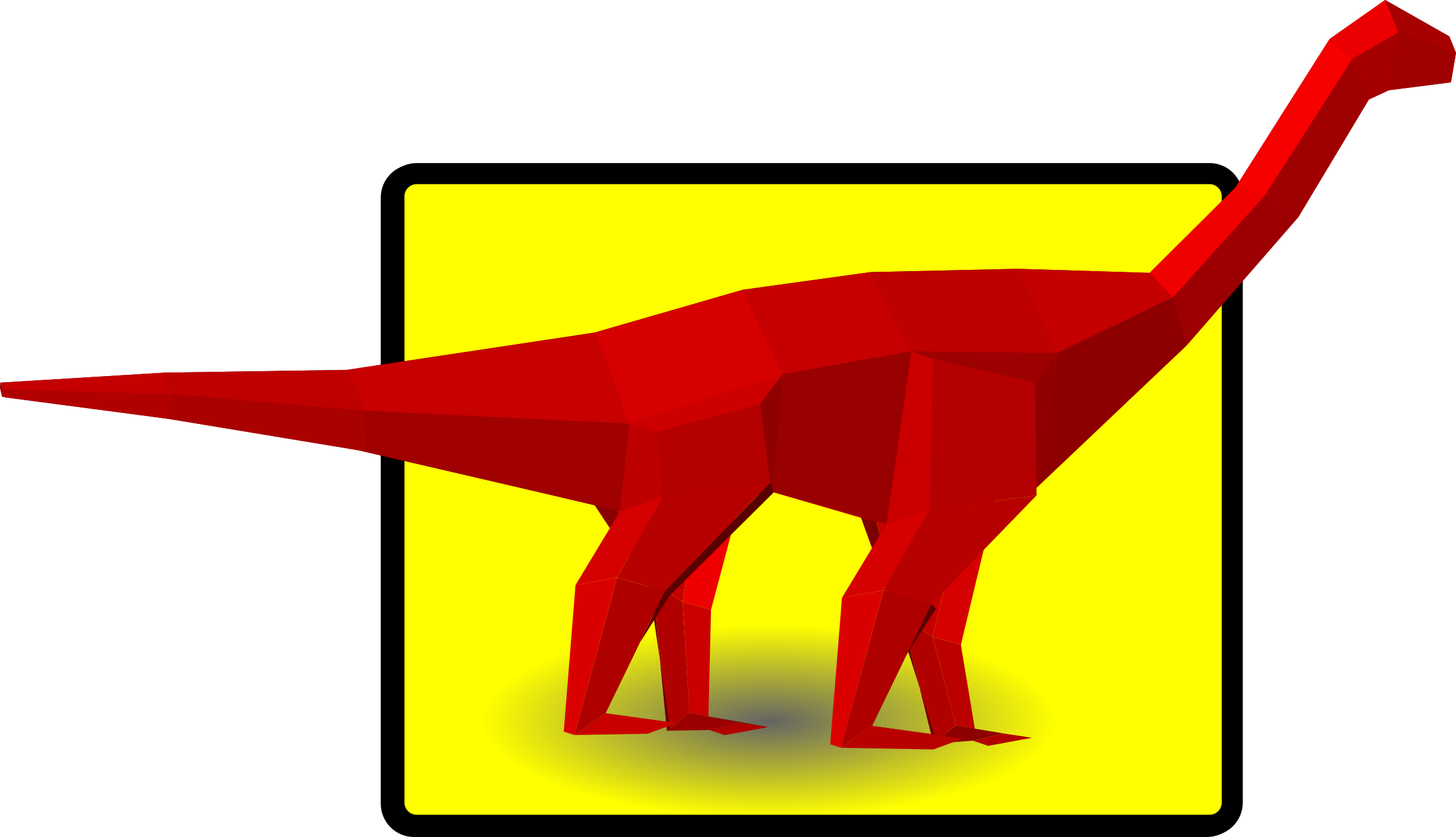 Diplodocus by mazeo