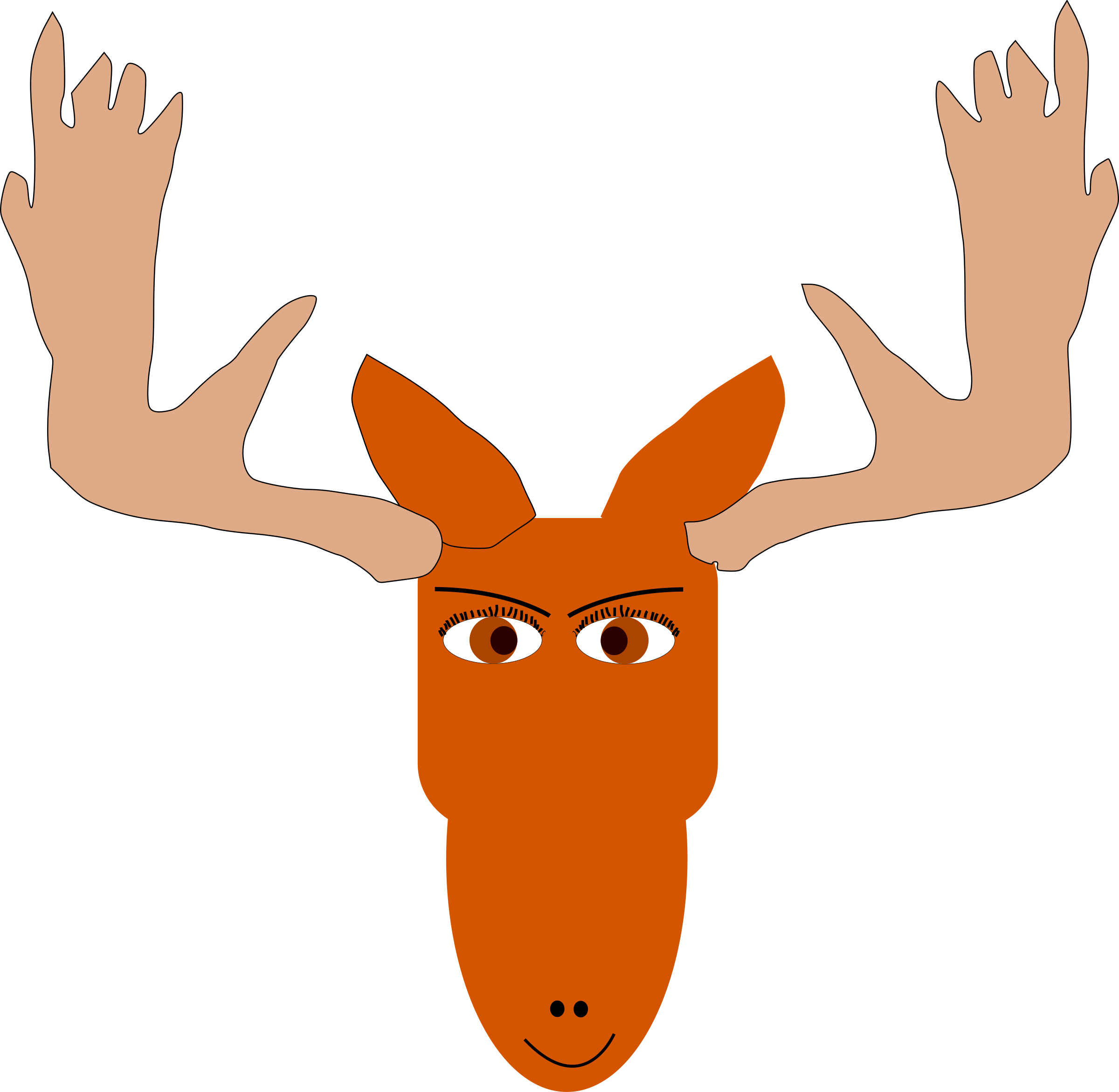 mad moose by sonichedgehog