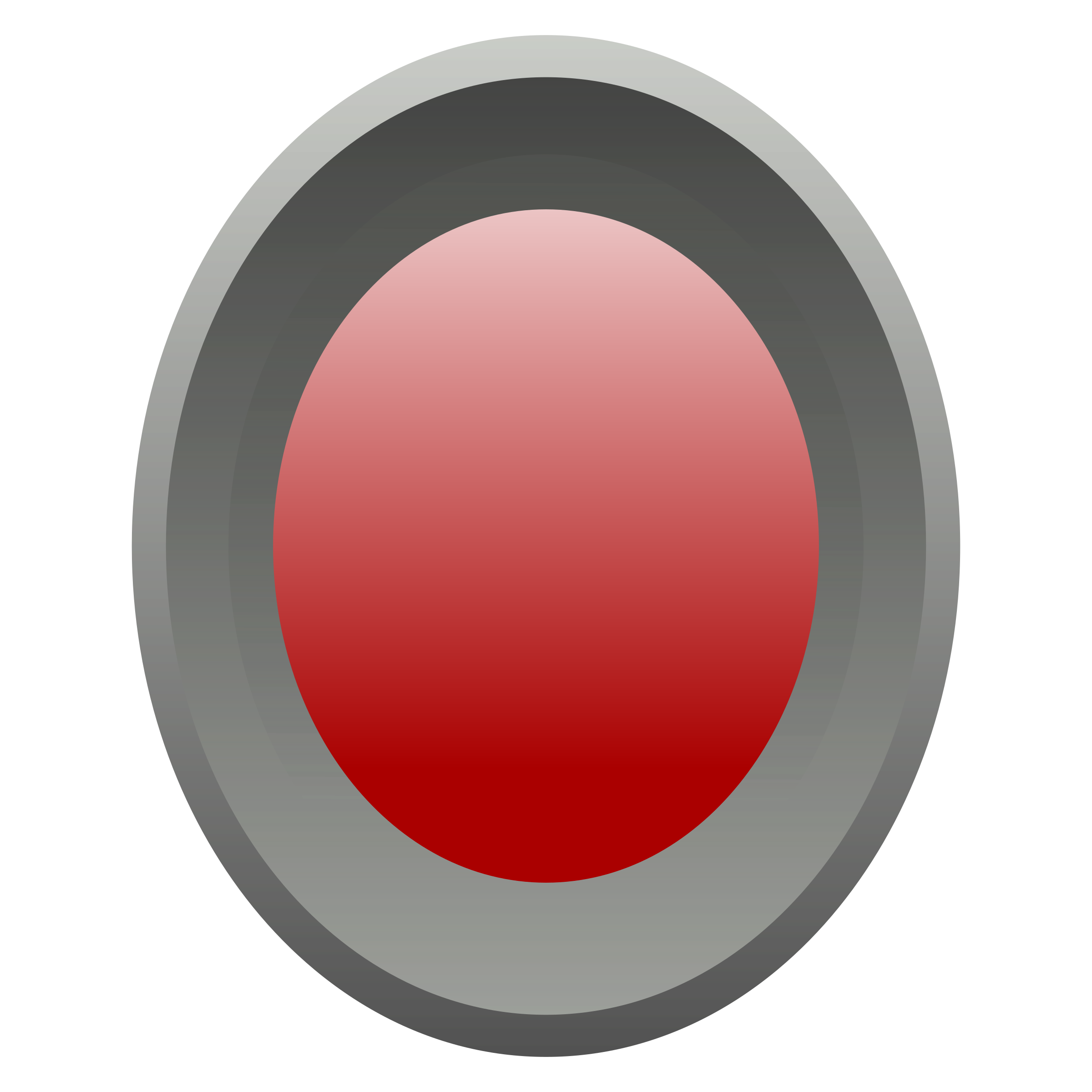 Gray and red button by finao123