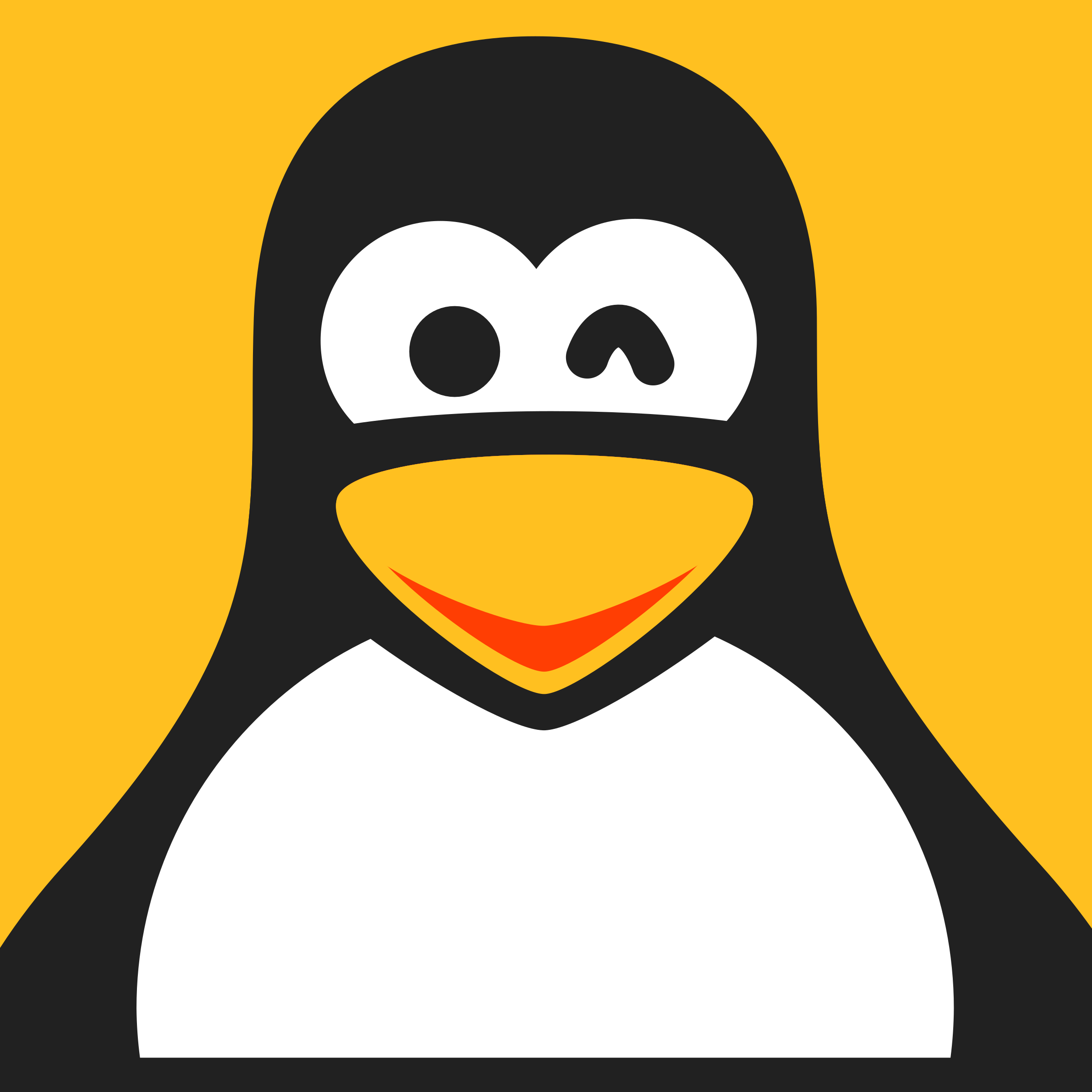 Linux Smiley by qubodup