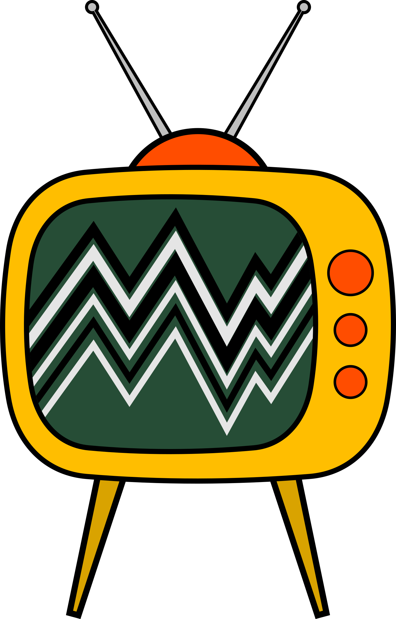 Old TV Cartoon by gustavorezende