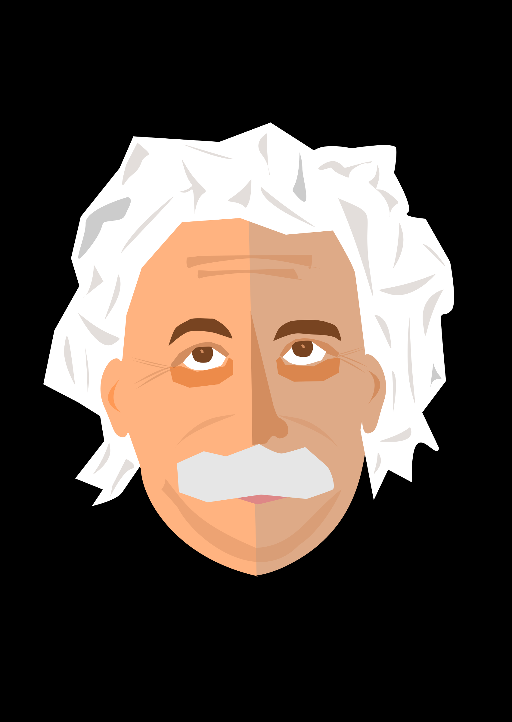 Albert Einstein by logoscambodia
