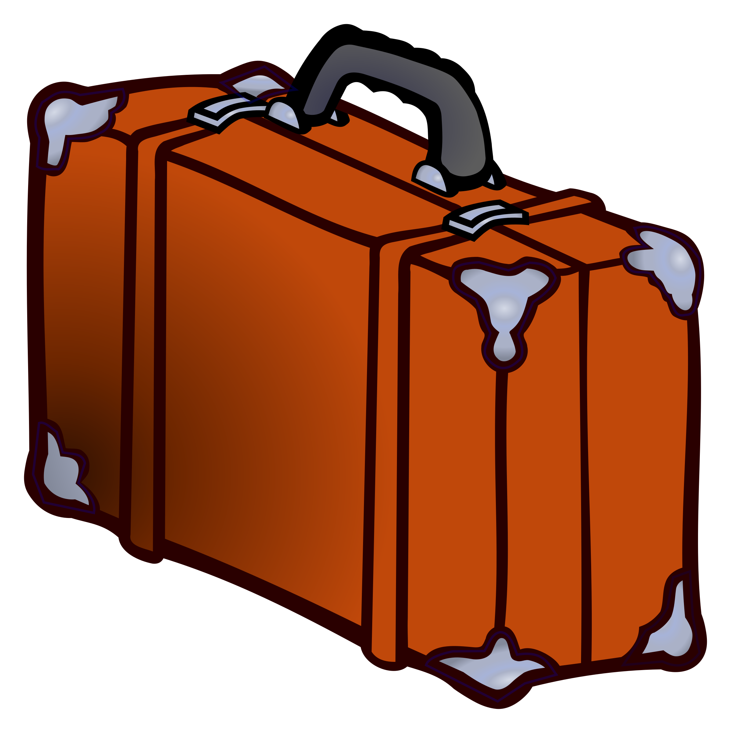 suitcase - coloured by frankes