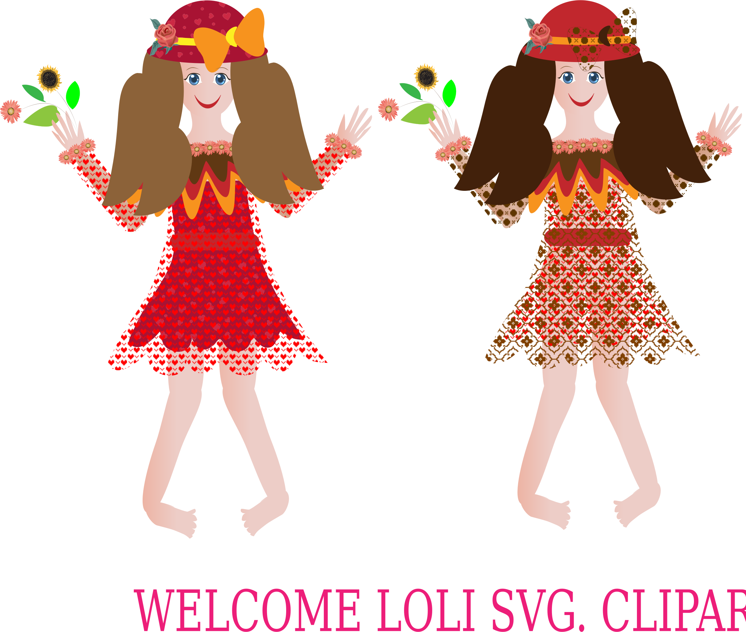 Welcome Loli Clipart by barbie40