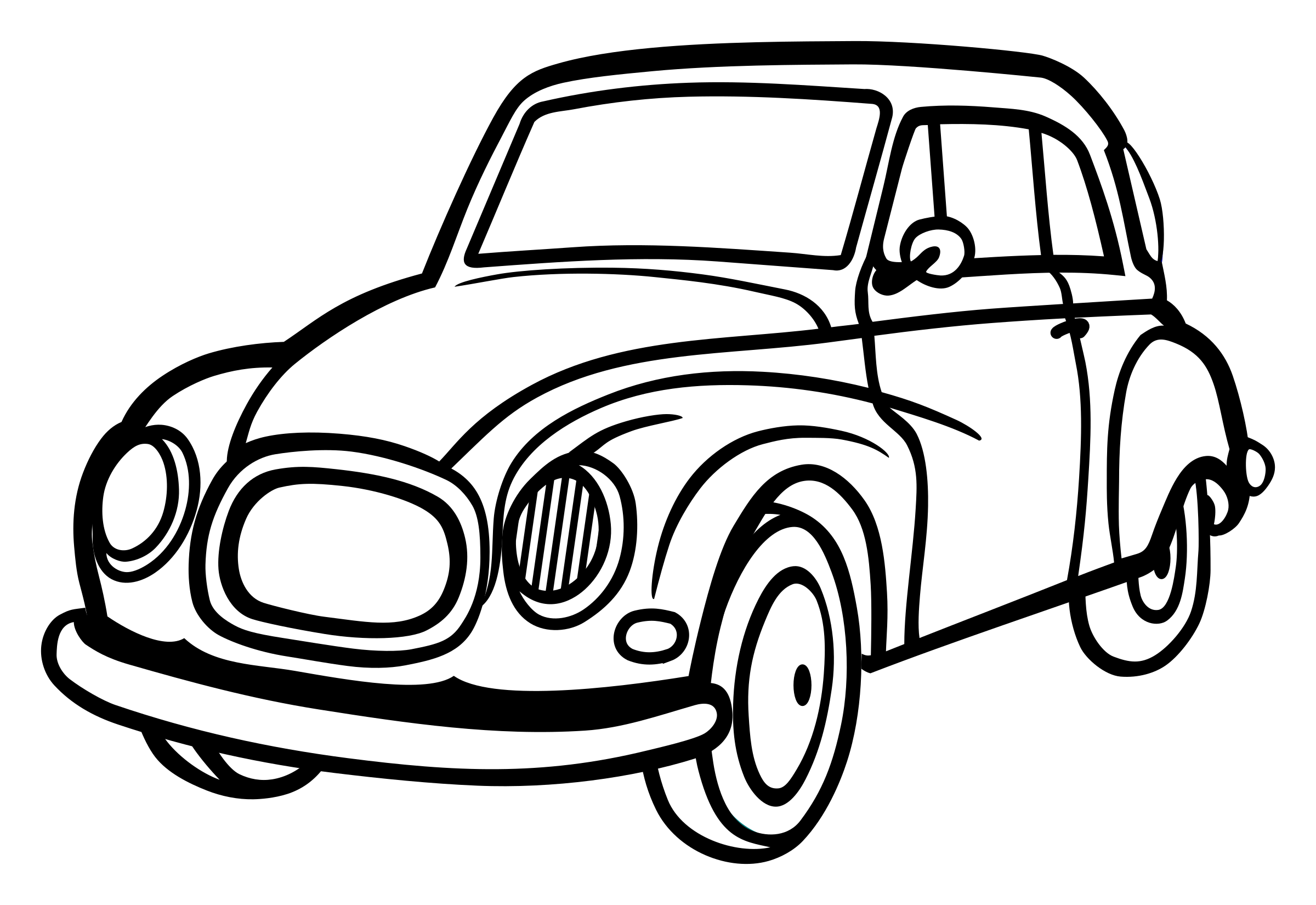 car - lineart by frankes