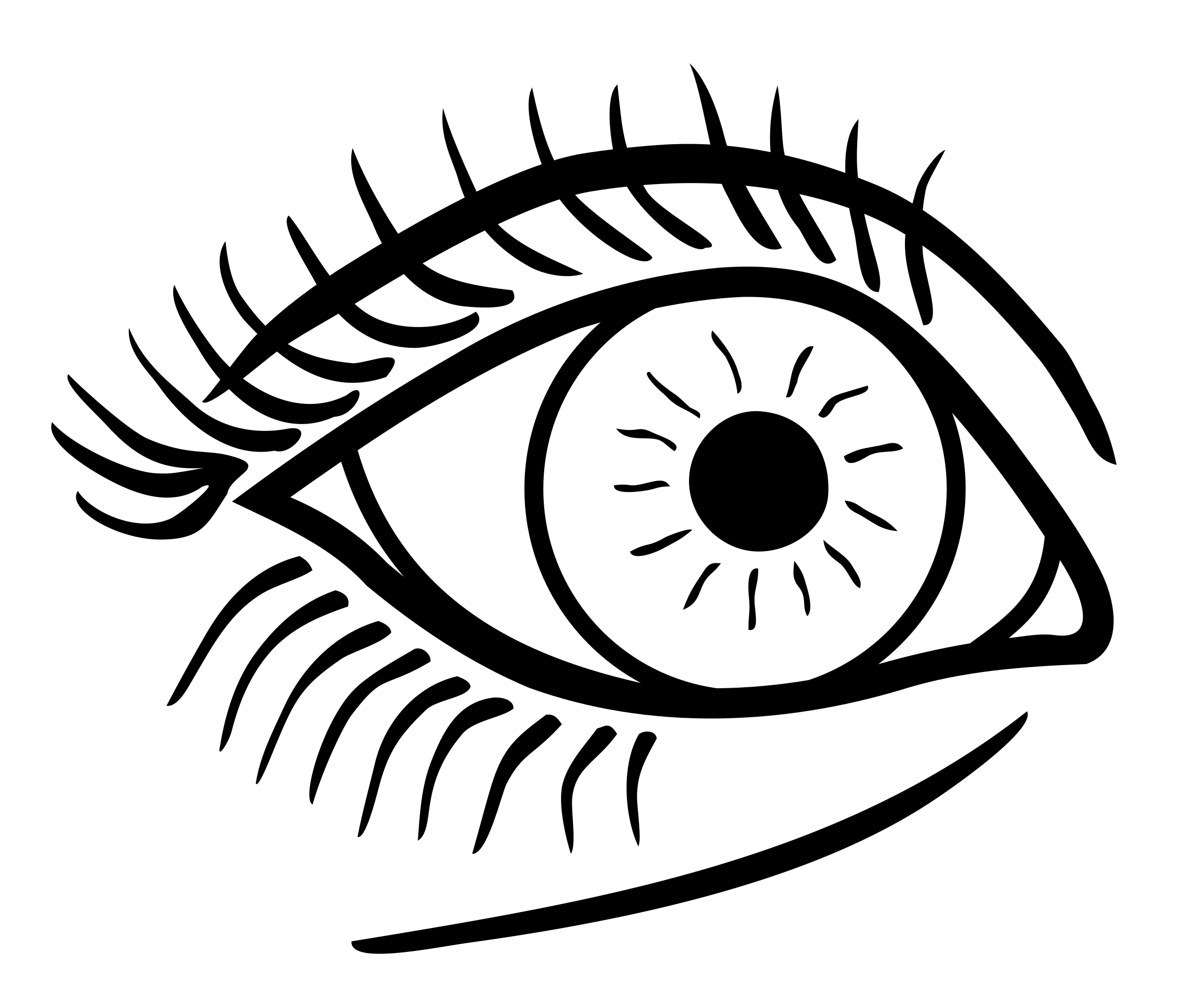 Line Art Eye : Clipart eye lineart