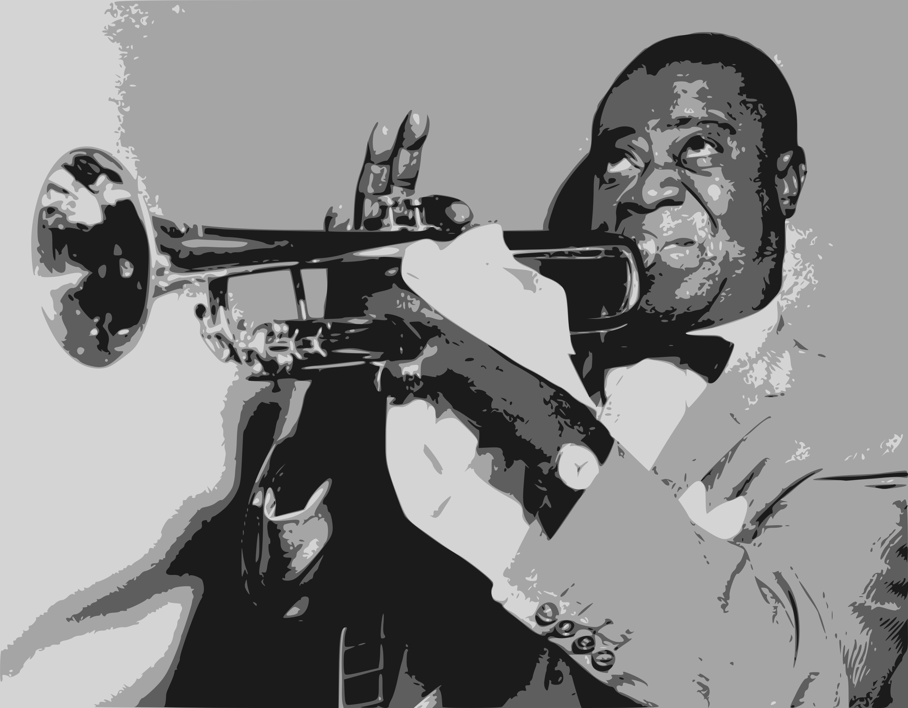Louis Armstrong by Sonshine_Penguin