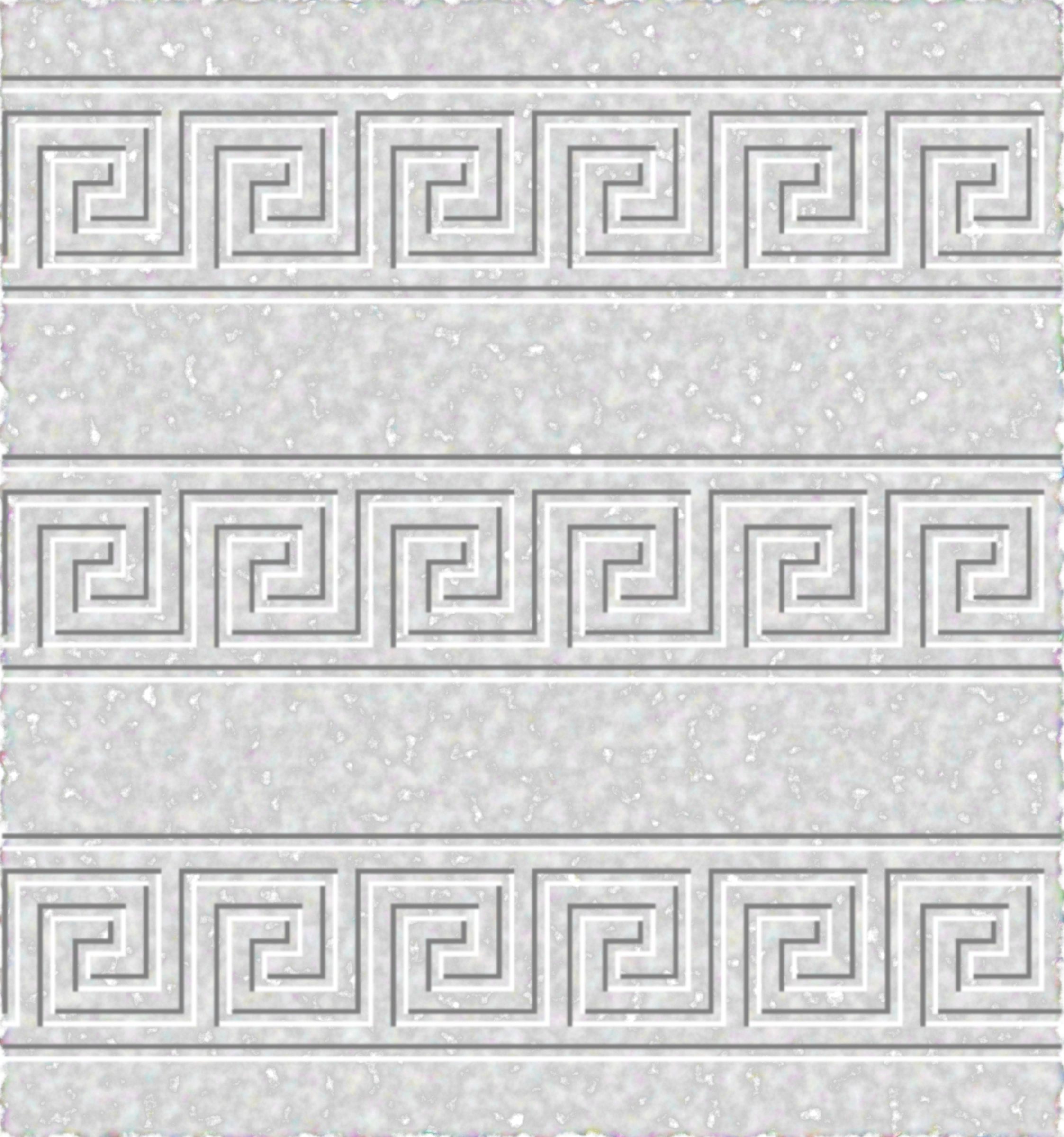 Ancient Greek Fret Pattern Marble Tileable by gustavorezende