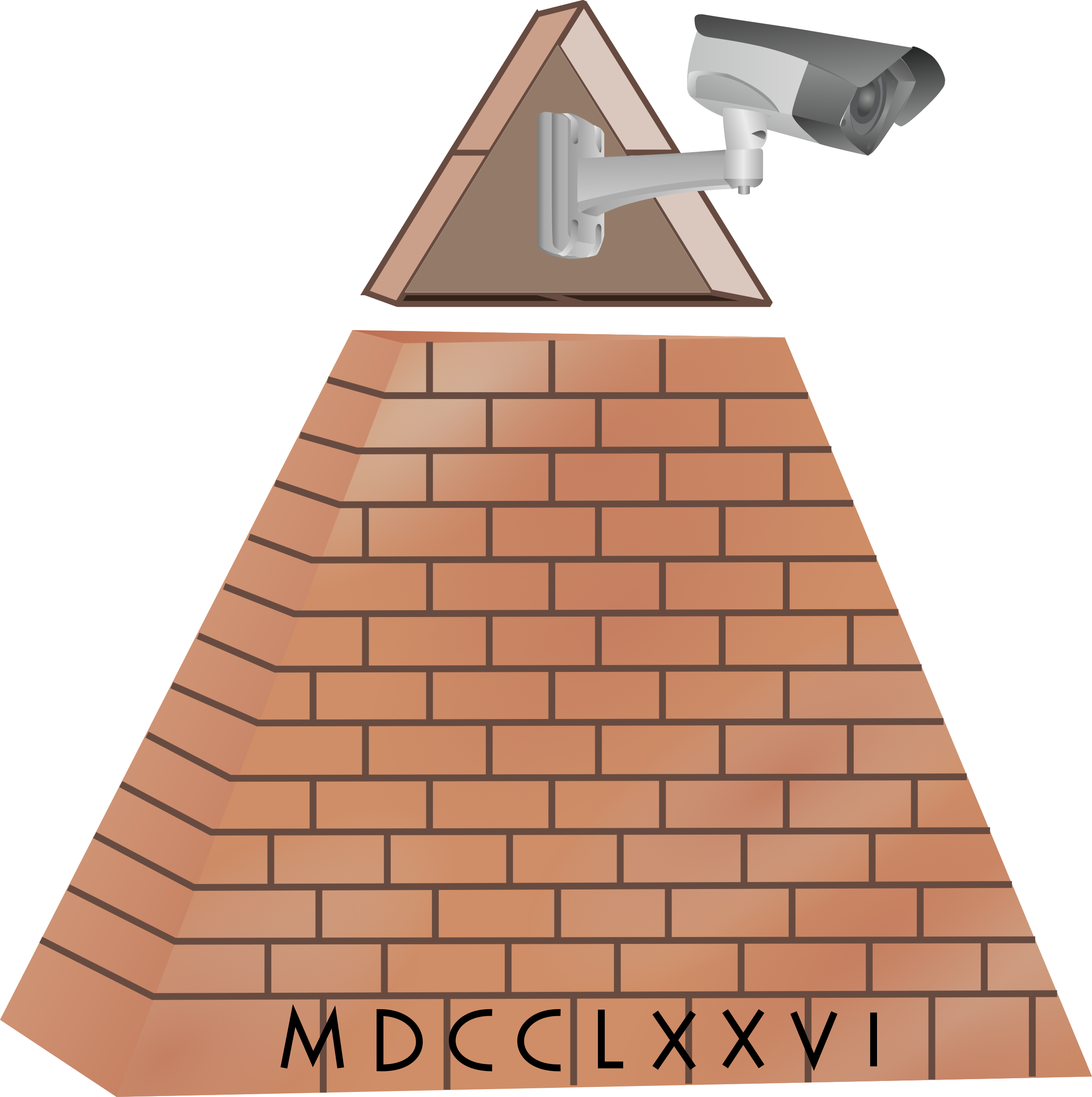 All Seeing Eye Camera Pyramid by GDJ