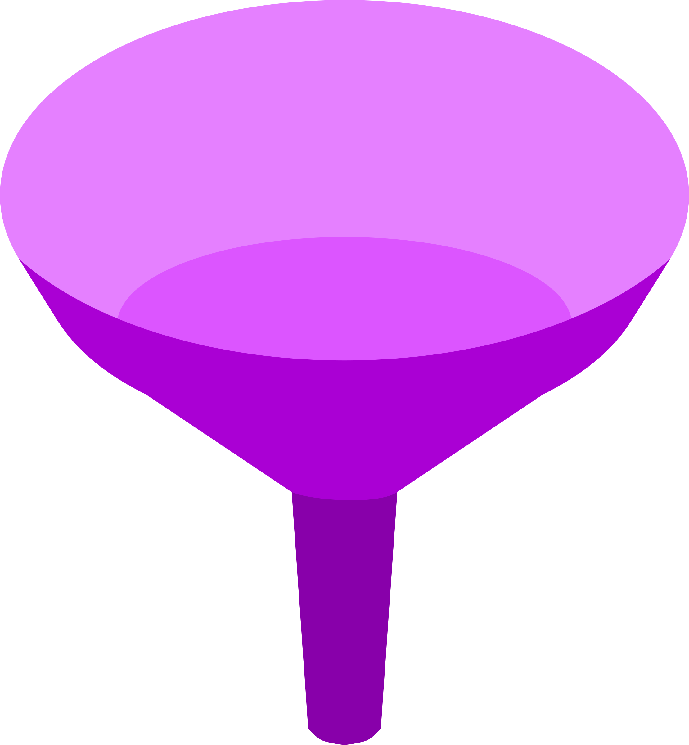 Purple Funnel by tuxwrench